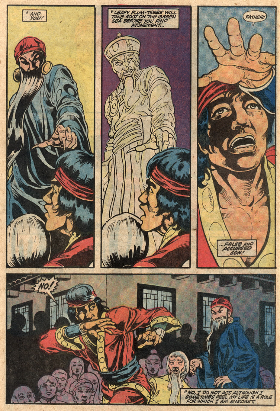 Read online Master of Kung Fu (1974) comic -  Issue #125 - 19