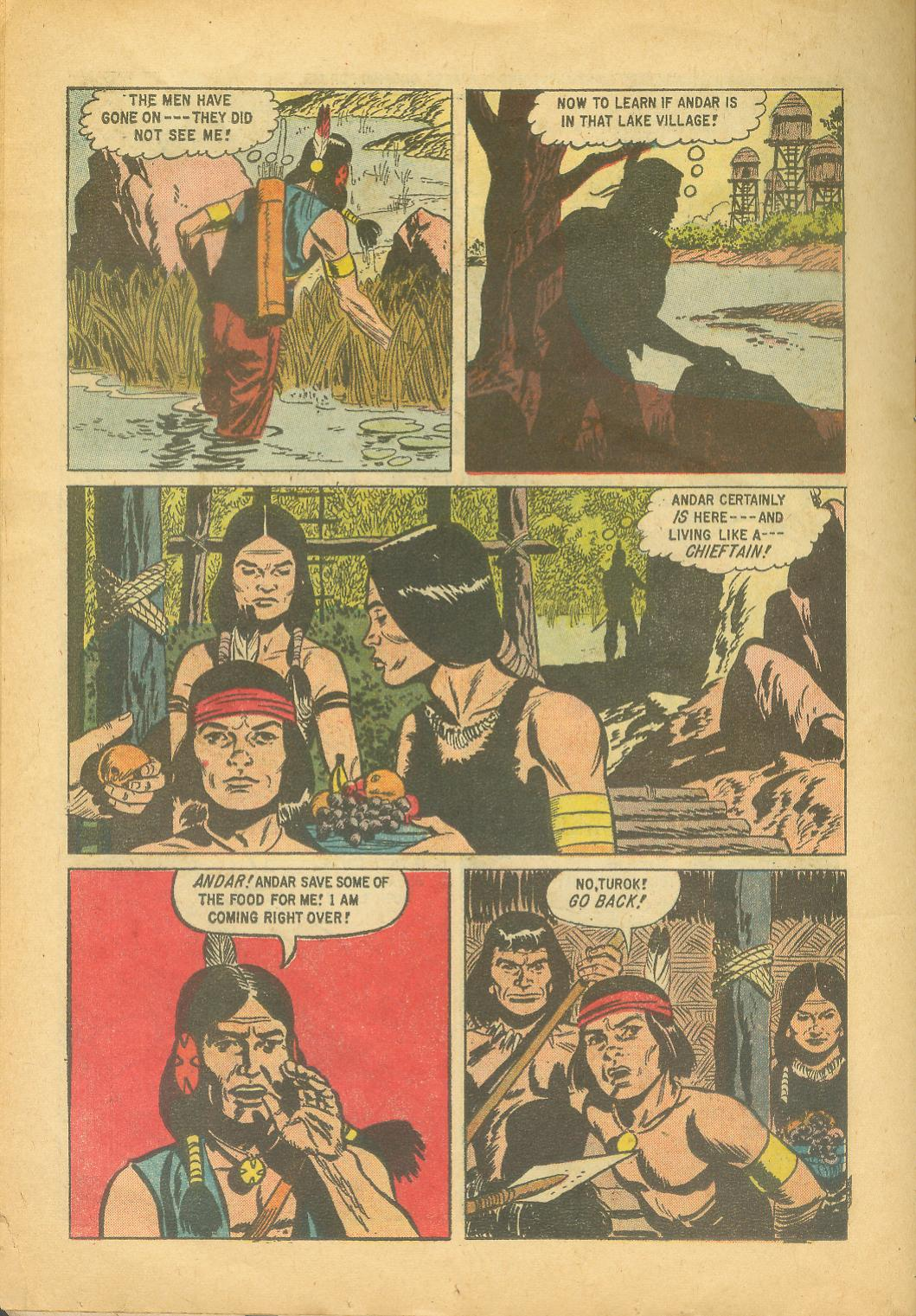 Read online Turok, Son of Stone comic -  Issue #18 - 26