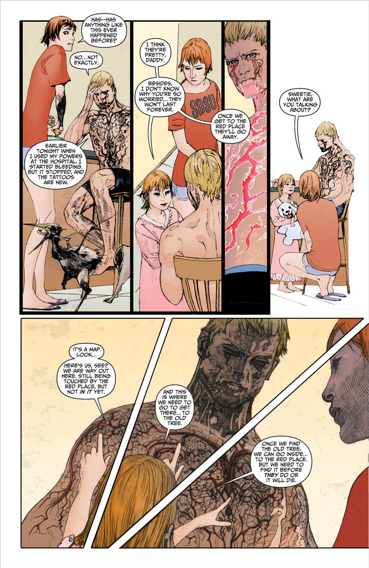 Read online Animal Man (2011) comic -  Issue #2 - 6