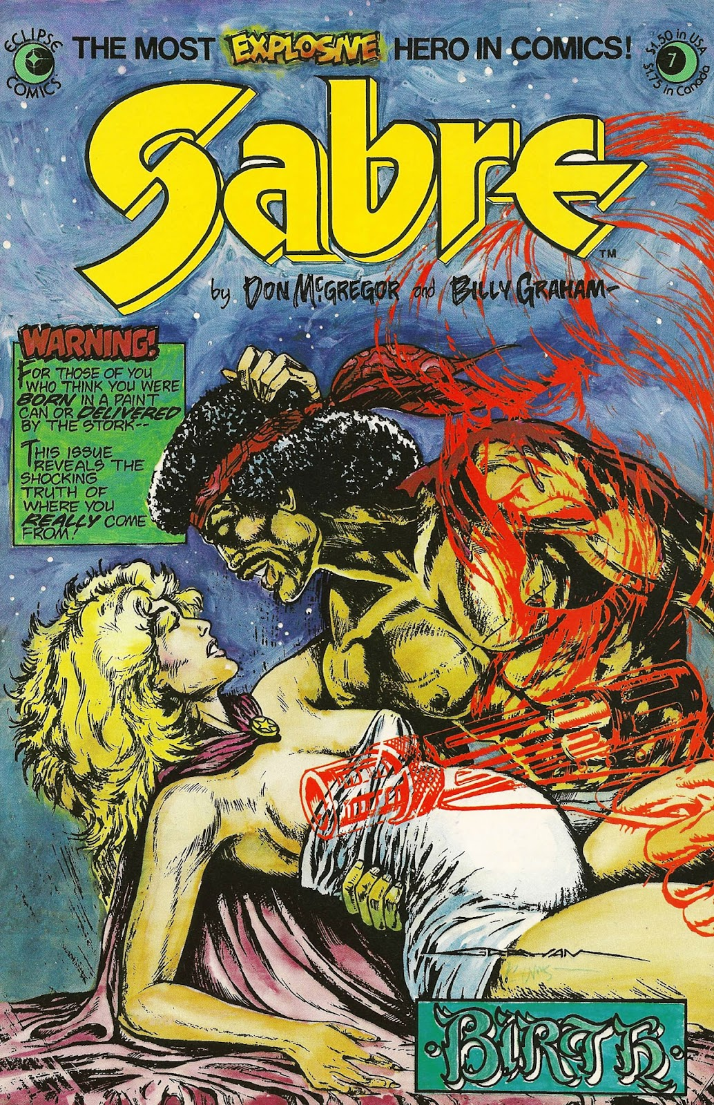 Sabre (1982) issue 7 - Page 1