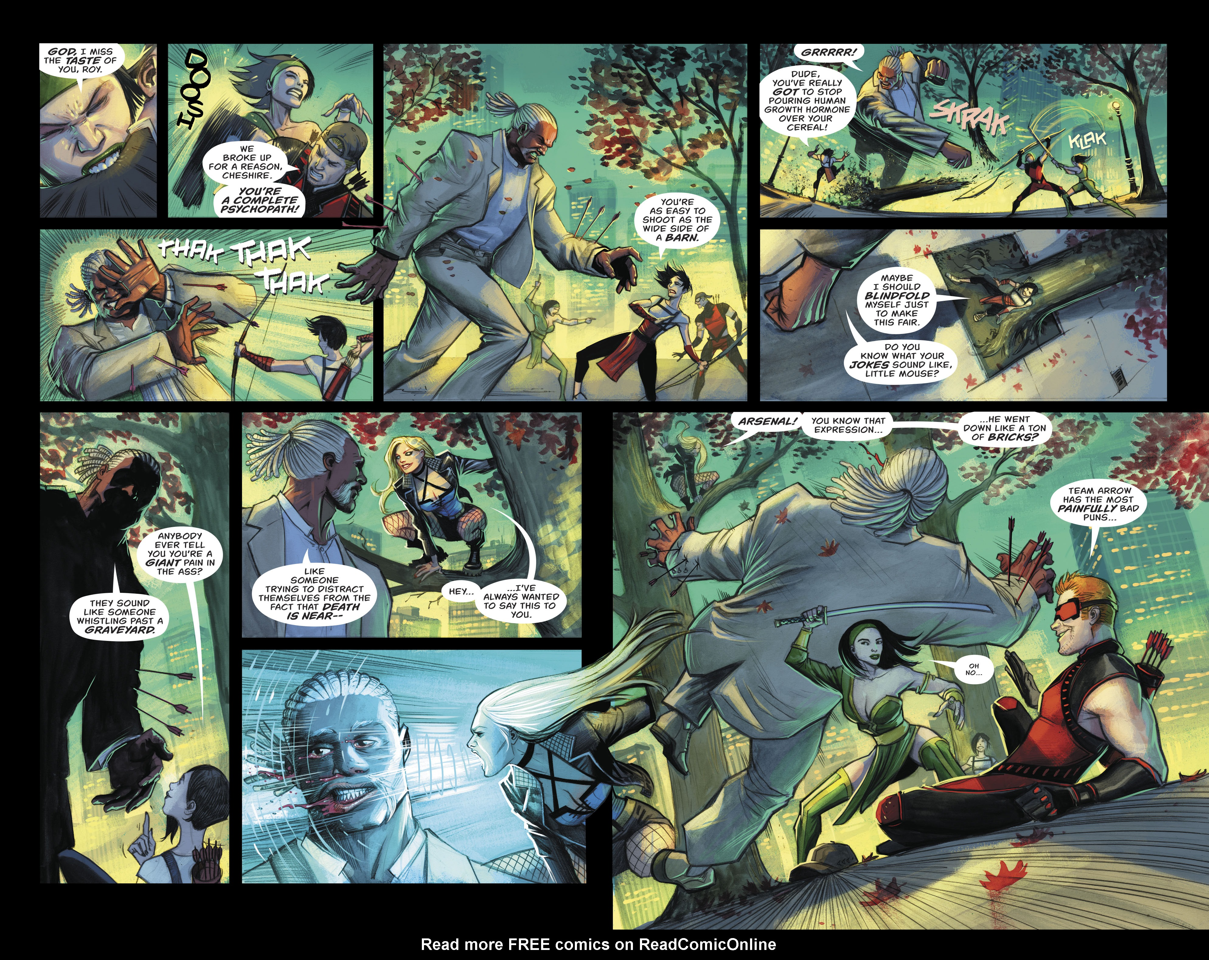 Read online Green Arrow (2016) comic -  Issue #24 - 13
