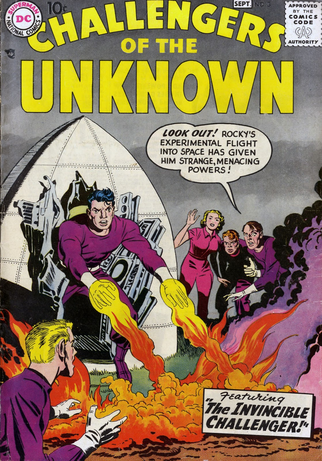 Challengers of the Unknown (1958) issue 3 - Page 1