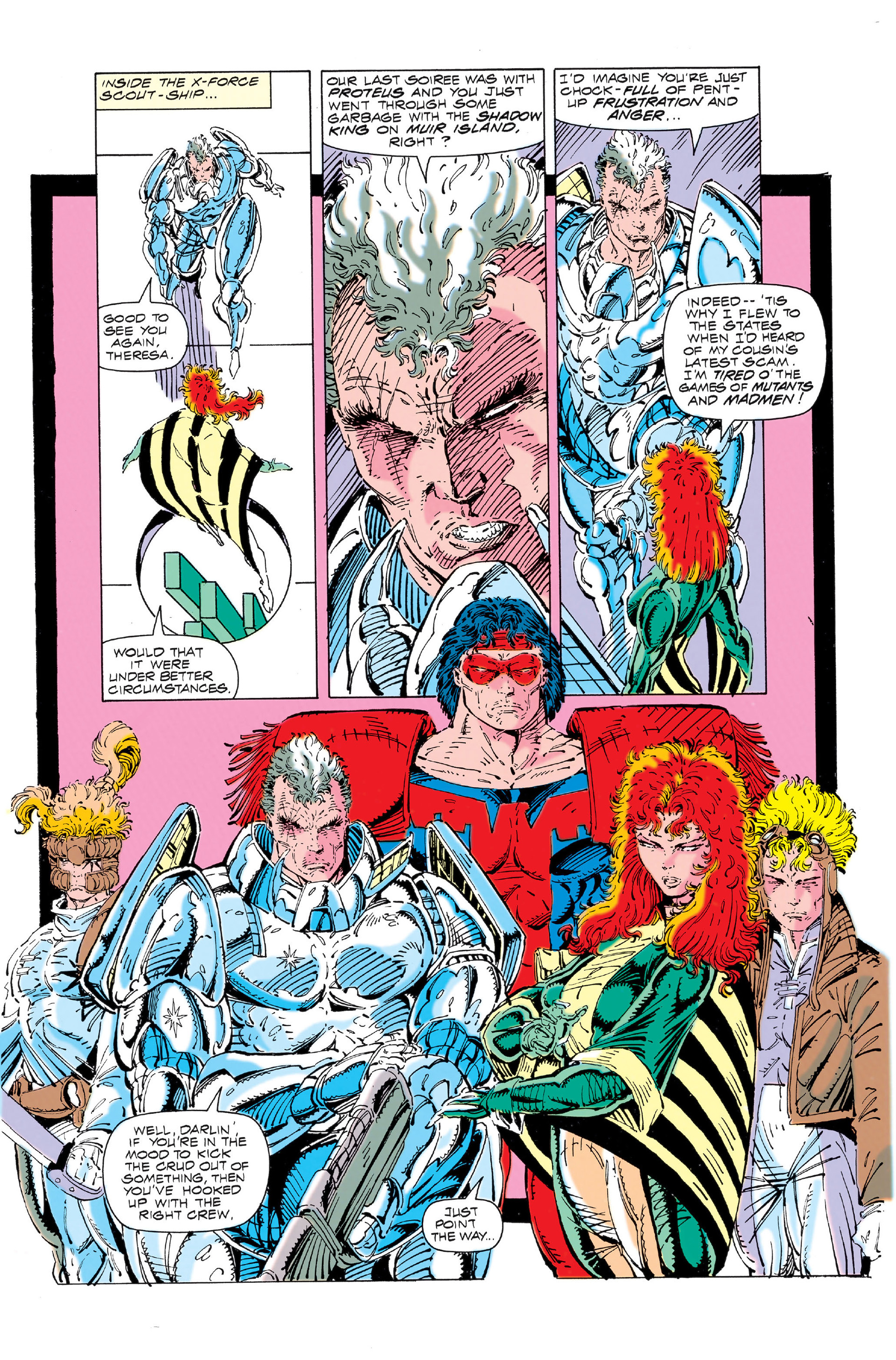 Read online X-Force (1991) comic -  Issue #3 - 9
