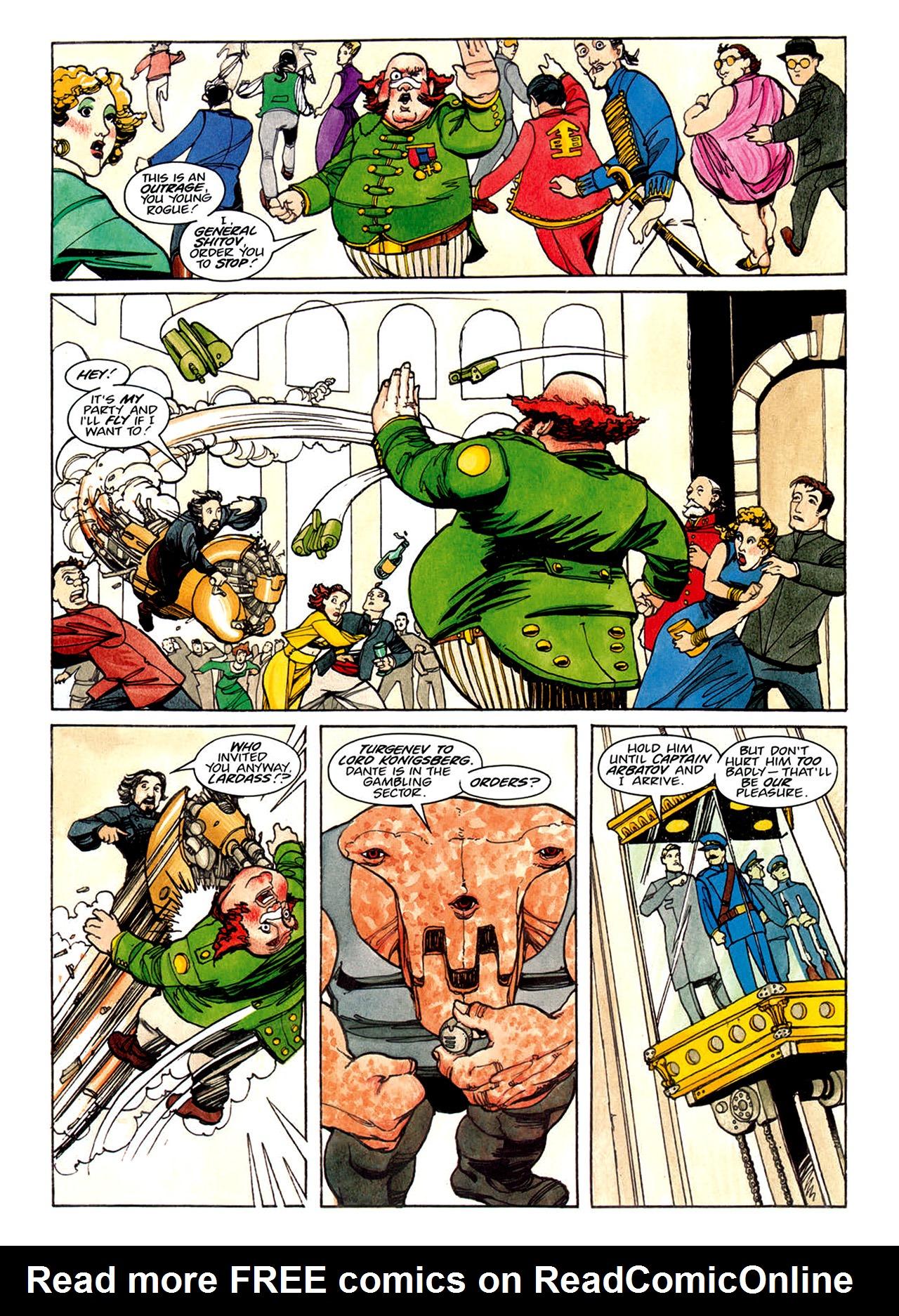 Read online Nikolai Dante comic -  Issue # TPB 1 - 118