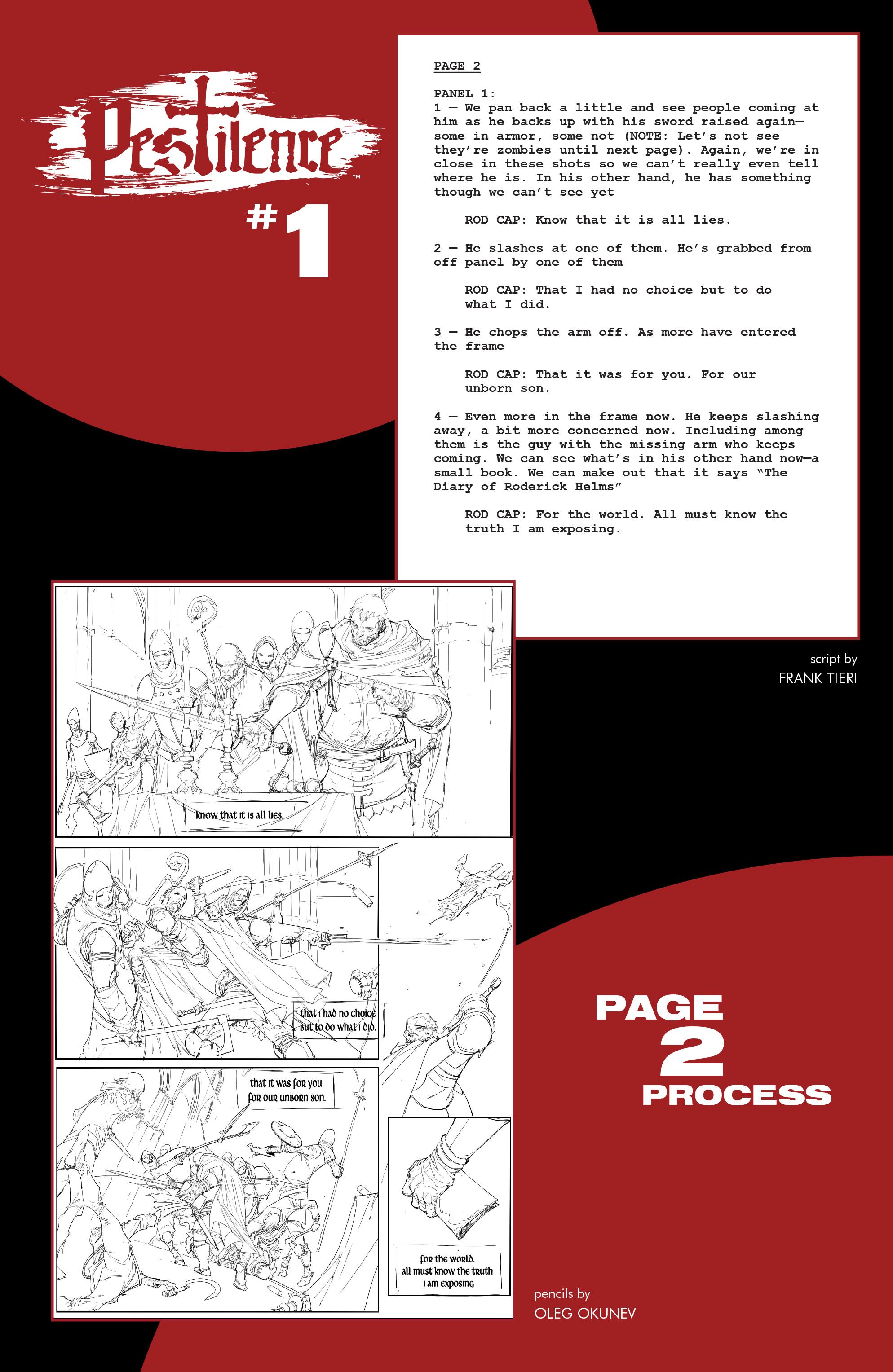 Read online Pestilence comic -  Issue #1 - 25