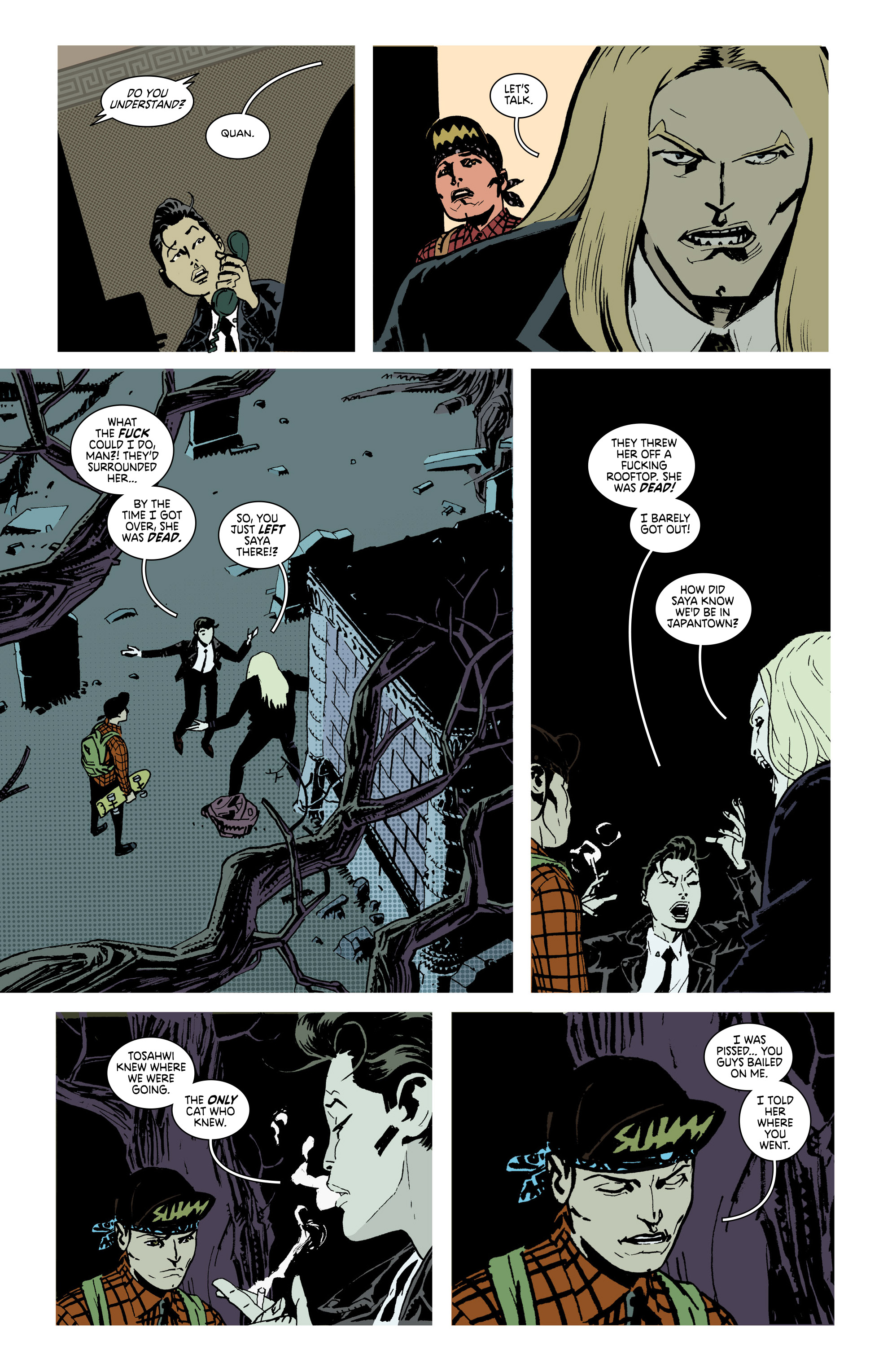 Read online Deadly Class comic -  Issue #28 - 9