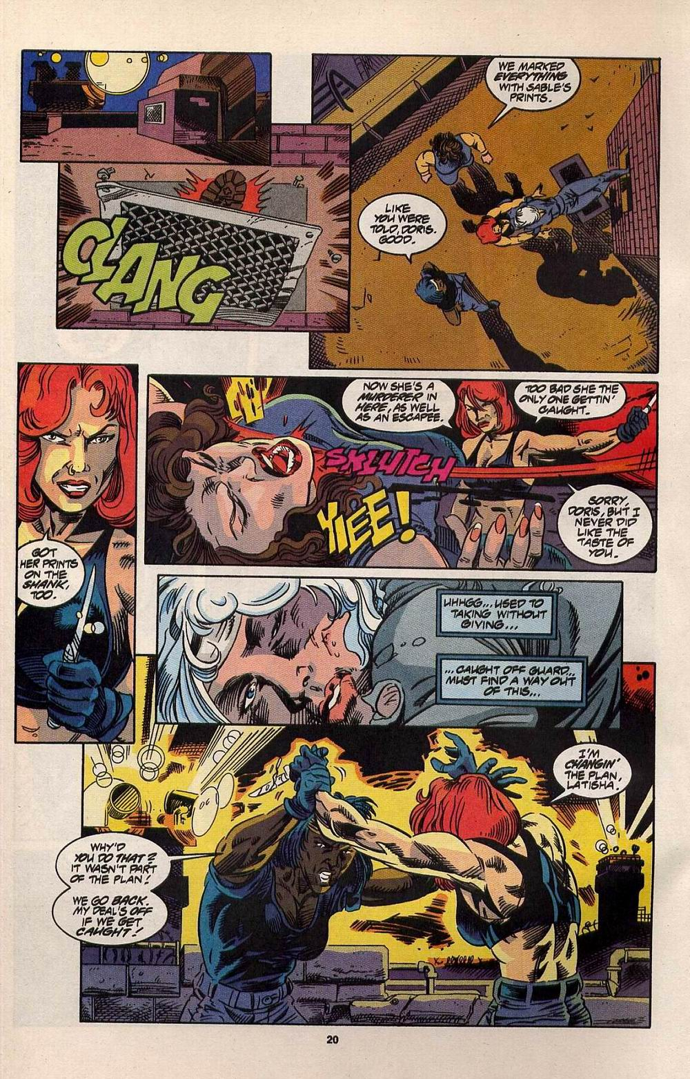 Read online Silver Sable and the Wild Pack comic -  Issue #30 - 16