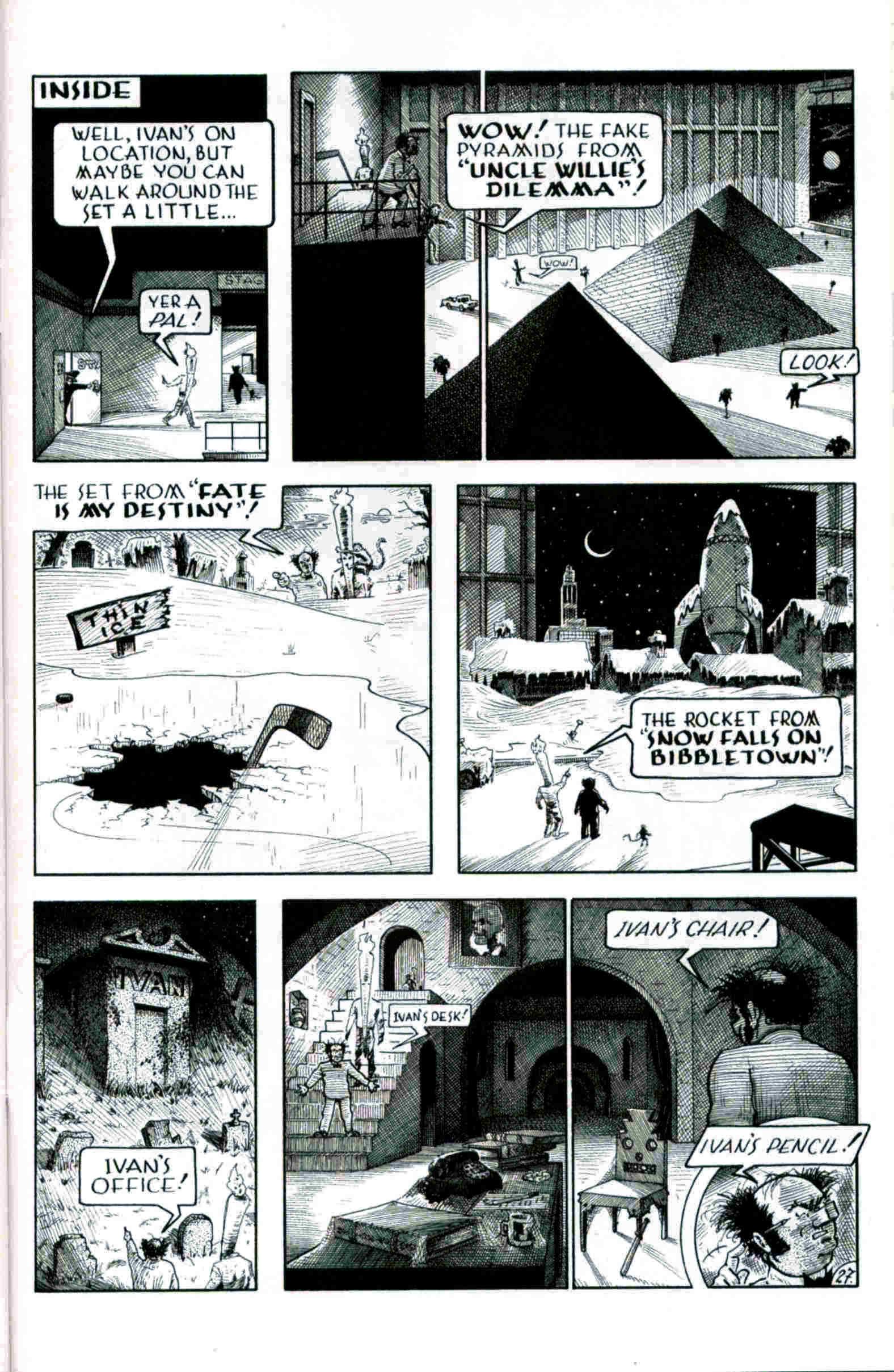 Read online Flaming Carrot & Reid Fleming, World's Toughest Milkman comic -  Issue # Full - 27