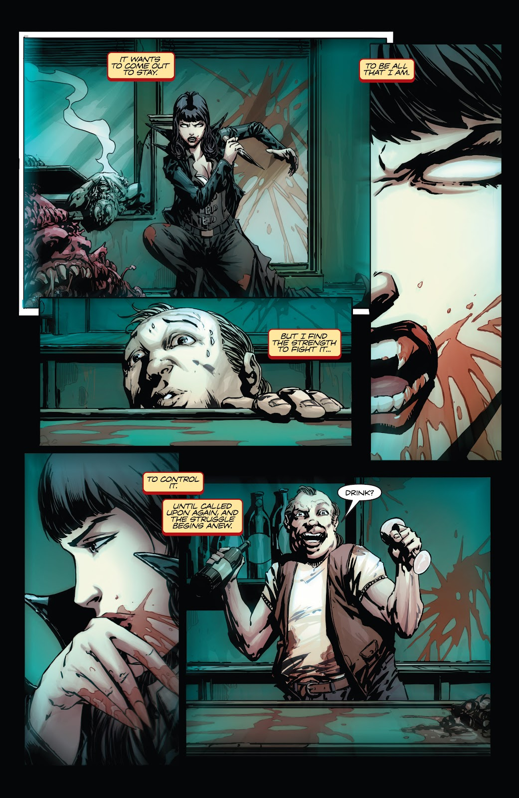 Read online Vampirella Strikes comic -  Issue #1 - 14