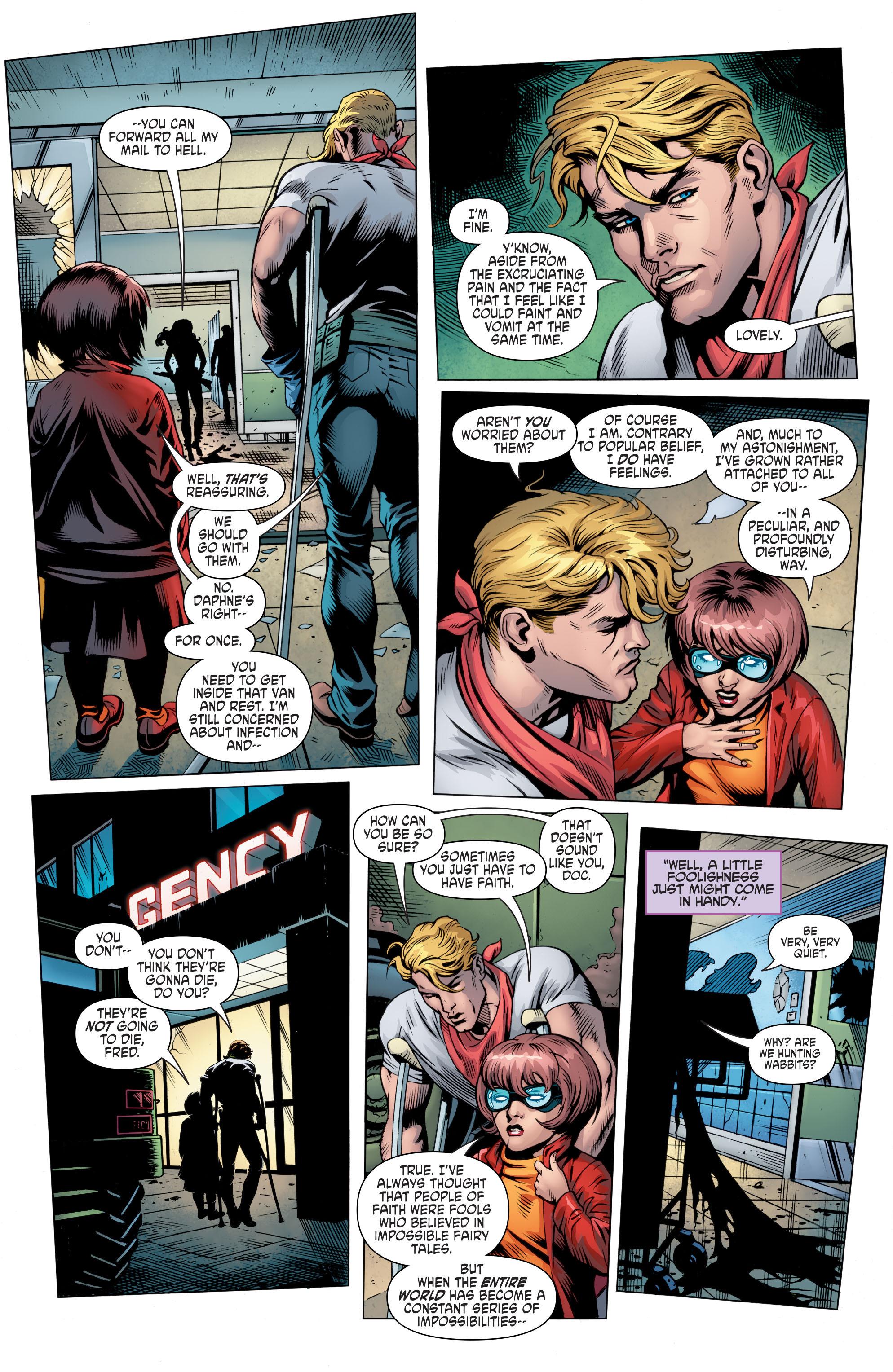 Read online Scooby Apocalypse comic -  Issue #8 - 11