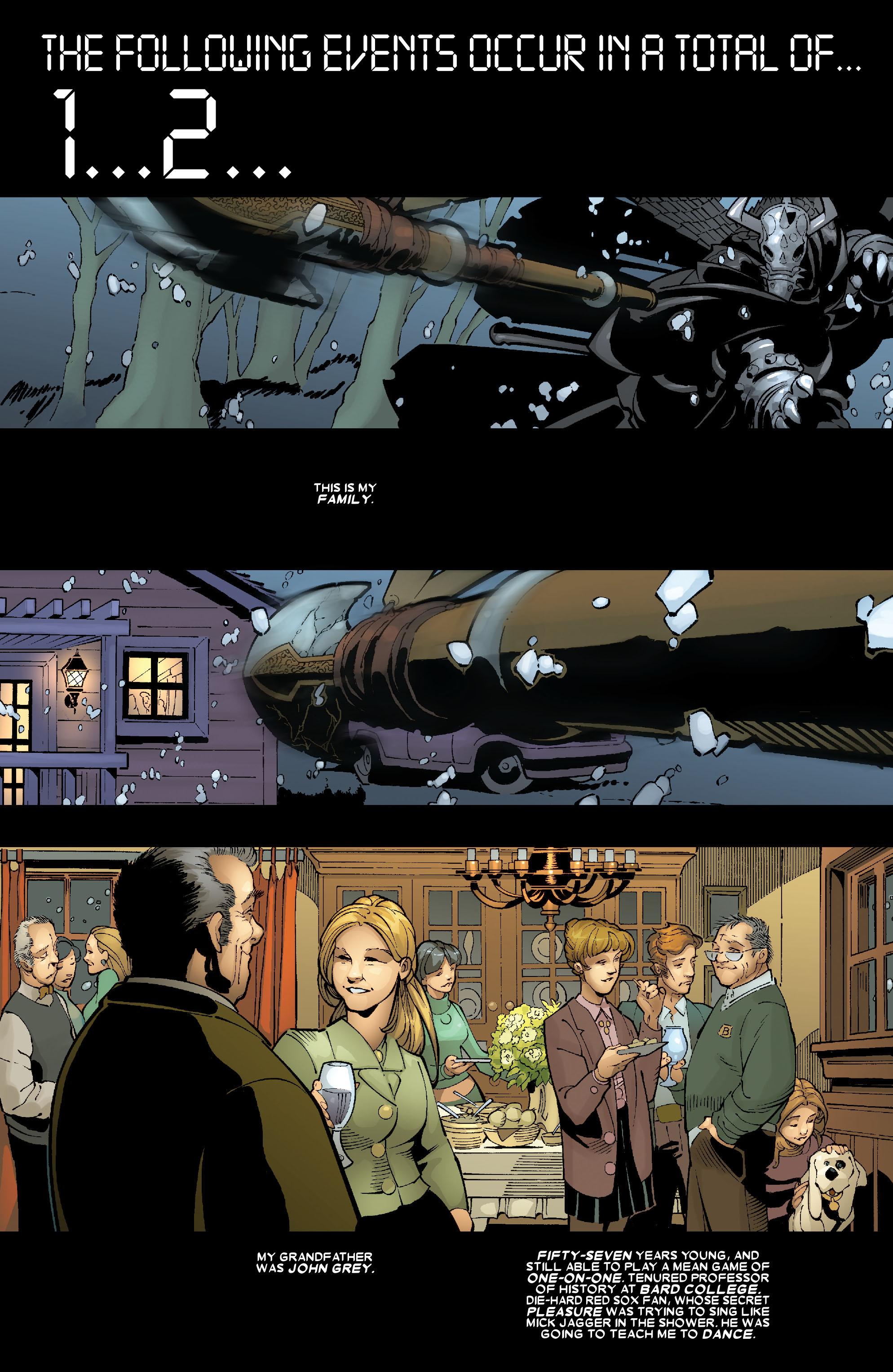 Read online Uncanny X-Men (1963) comic -  Issue #467 - 3