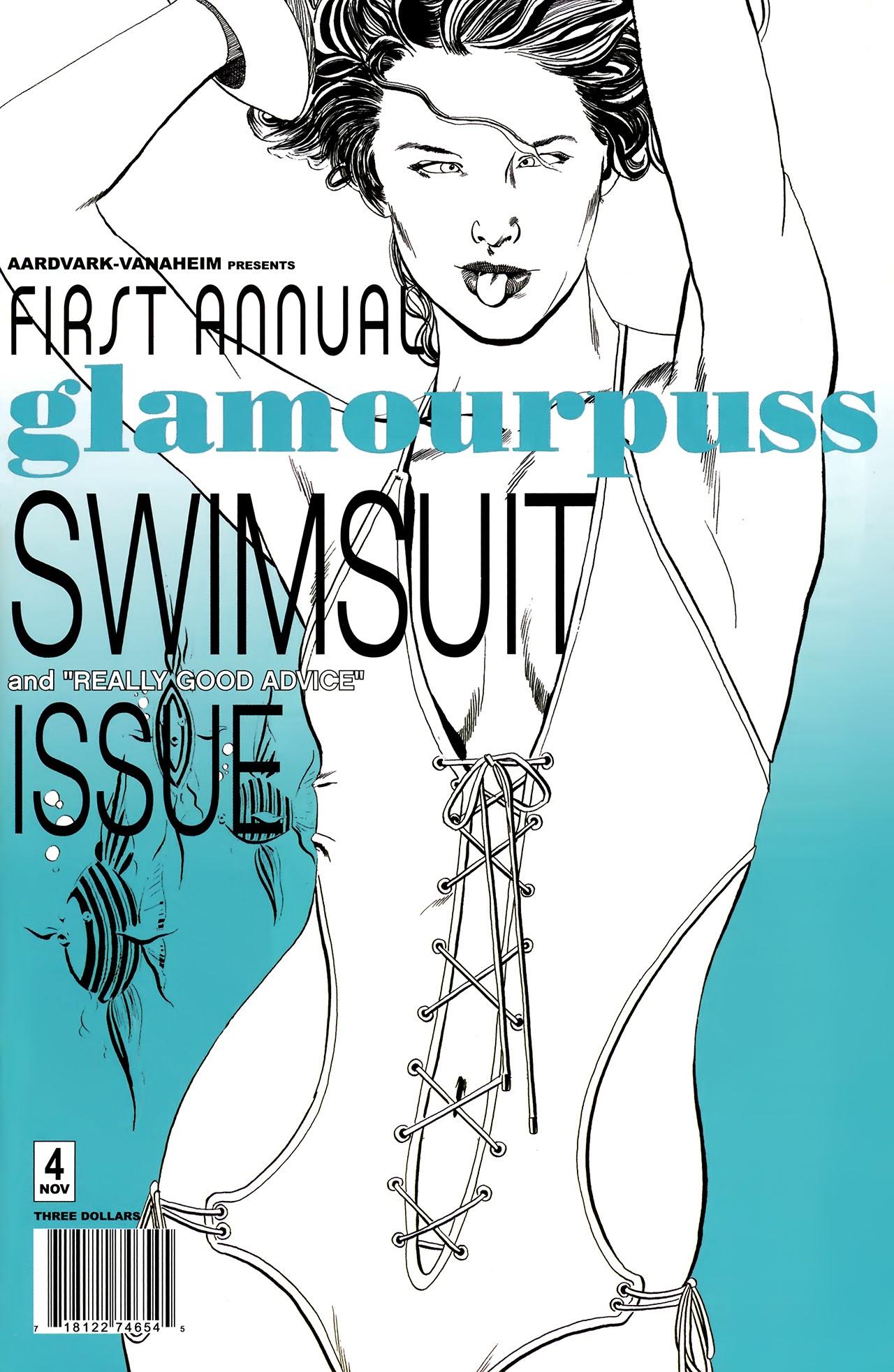 Glamourpuss issue 4 - Page 1