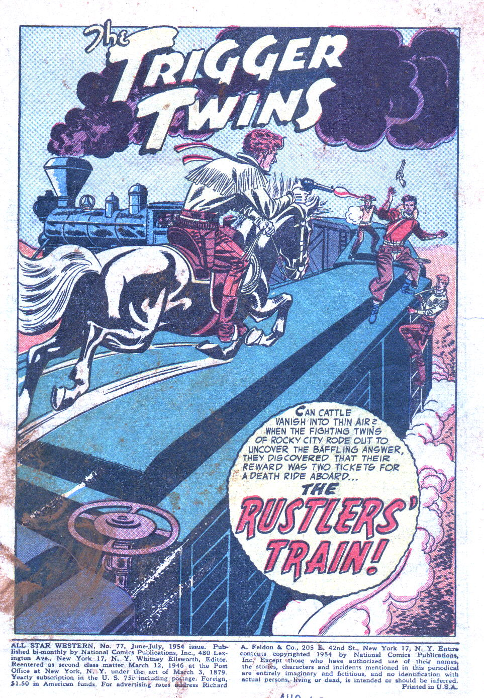 Read online All-Star Western (1951) comic -  Issue #77 - 3