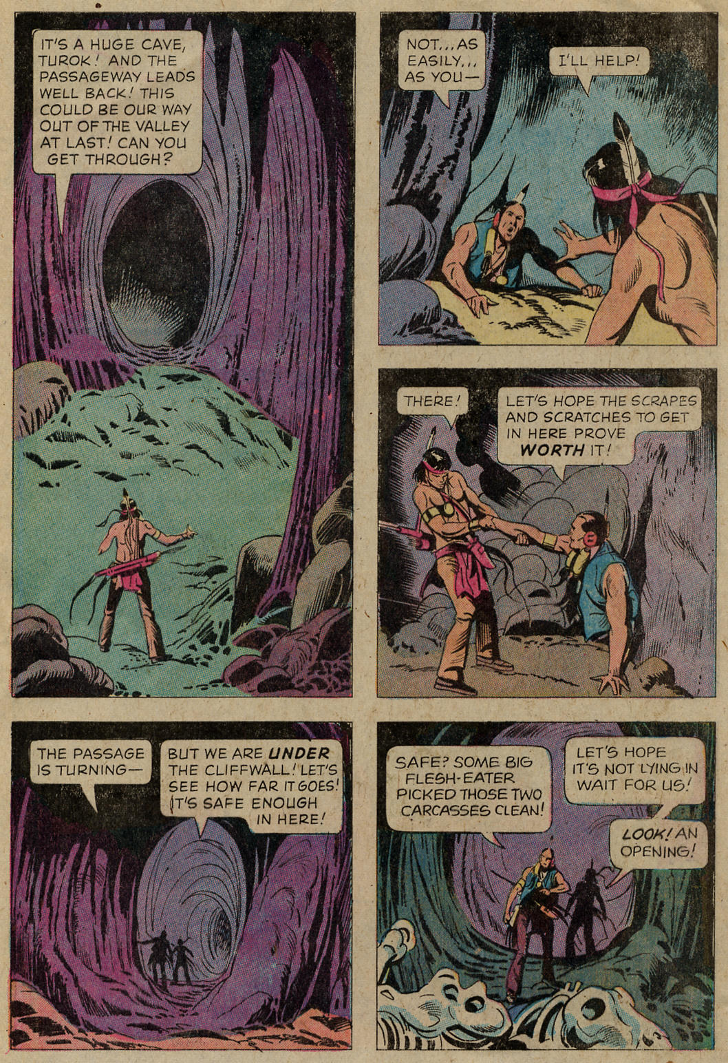 Read online Turok, Son of Stone comic -  Issue #102 - 28