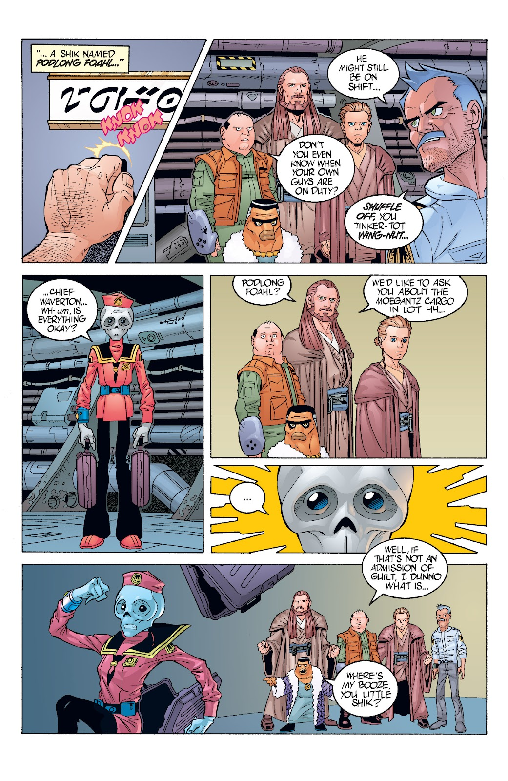 Read online Star Wars Legends: Rise of the Sith - Epic Collection comic -  Issue # TPB 1 (Part 3) - 41