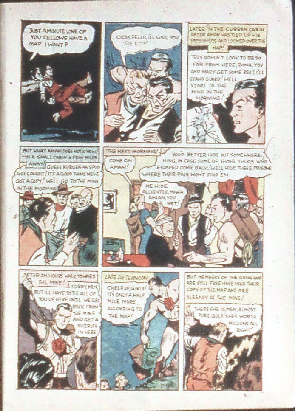 Read online Amazing Man Comics comic -  Issue #18 - 9