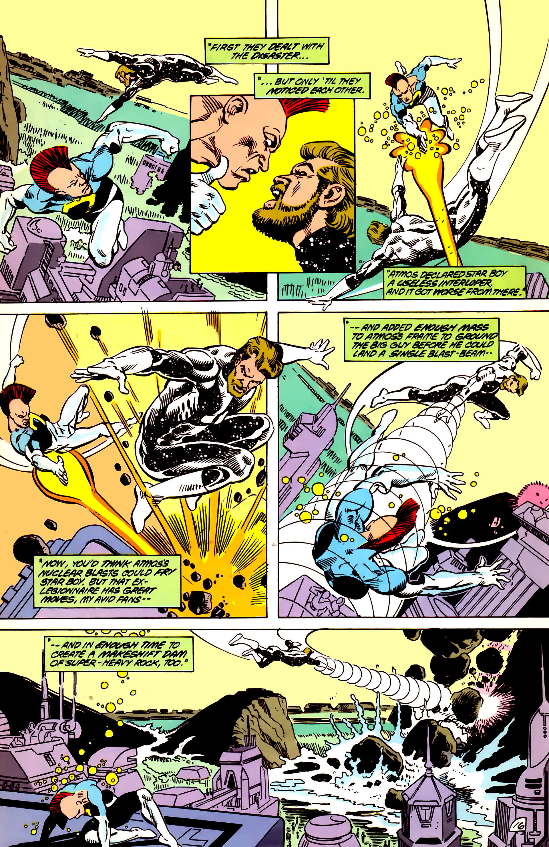 Legion of Super-Heroes (1984) 55 Page 16