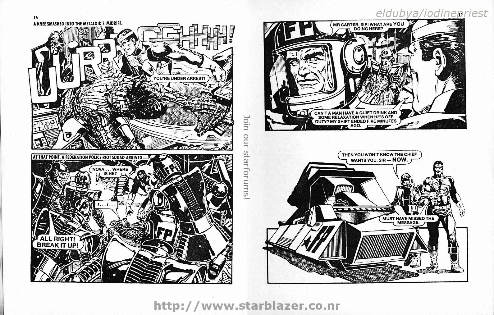 Starblazer issue 215 - Page 10