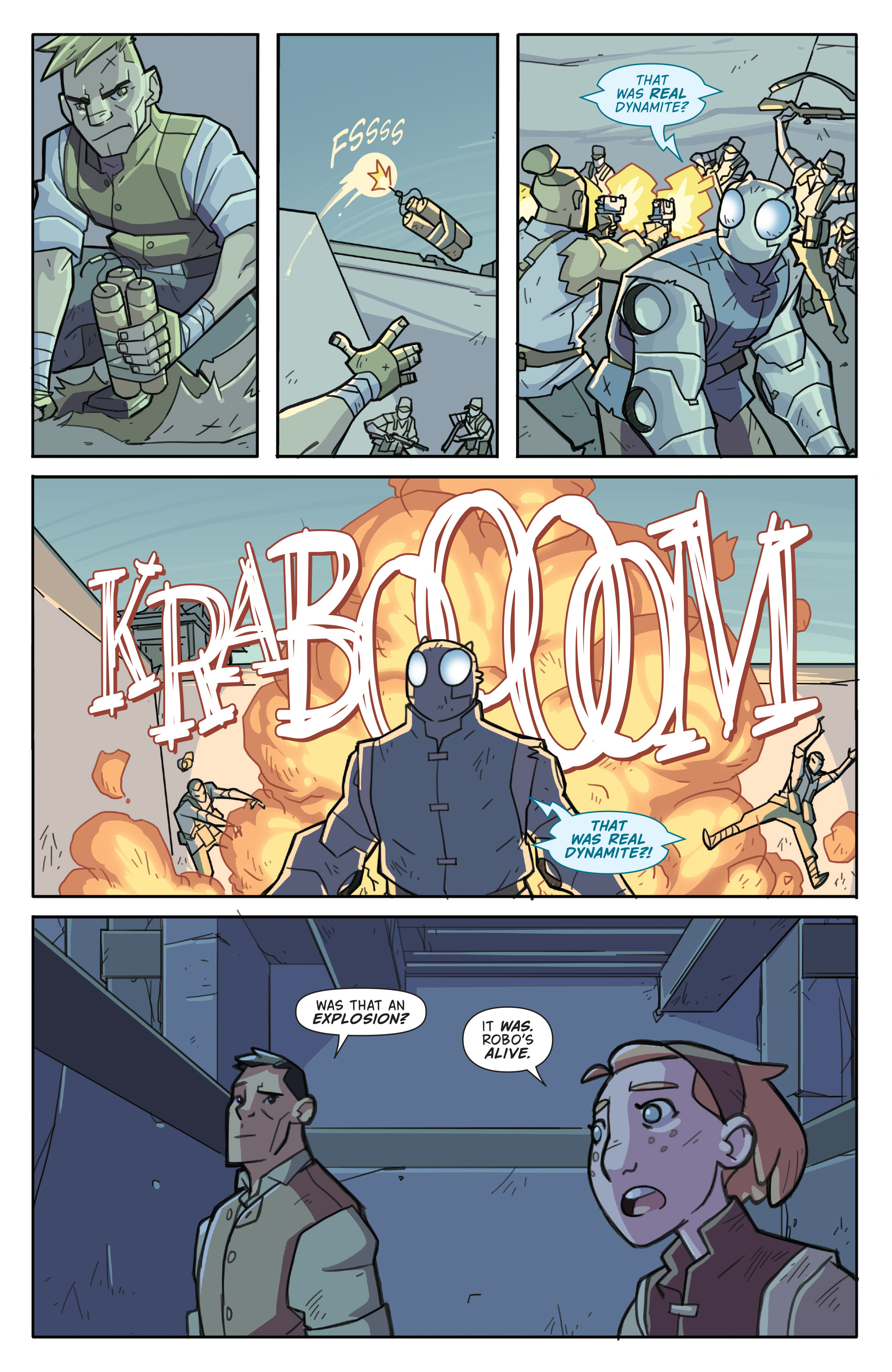 Read online Atomic Robo and the Temple of Od comic -  Issue #4 - 17