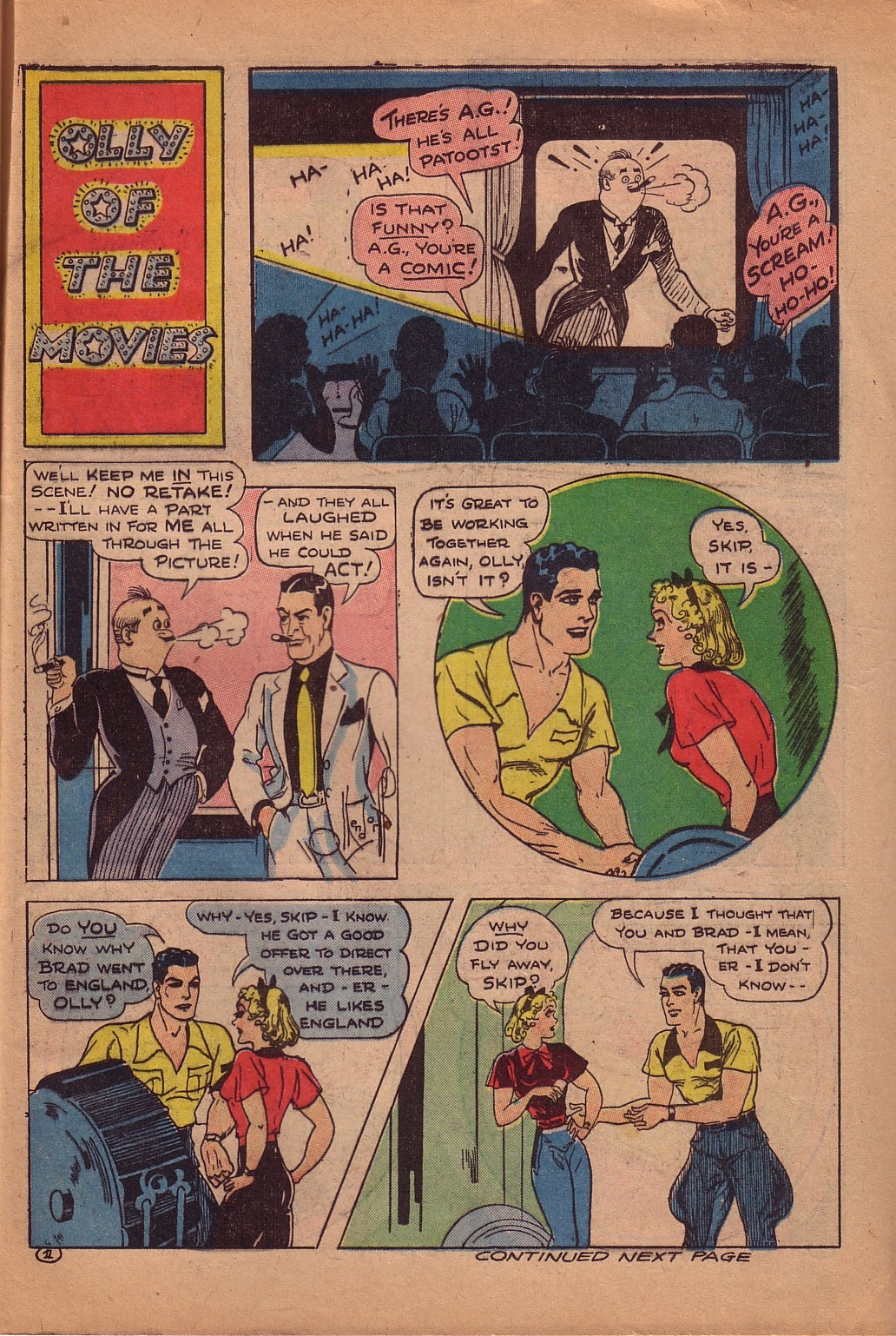 Read online Famous Funnies comic -  Issue #107 - 50