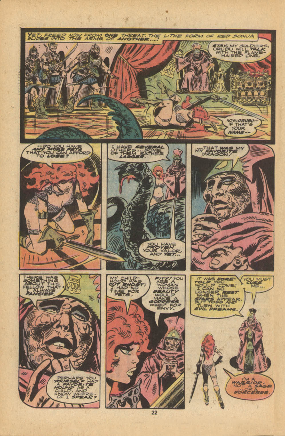 Red Sonja (1977) issue 5 - Page 13