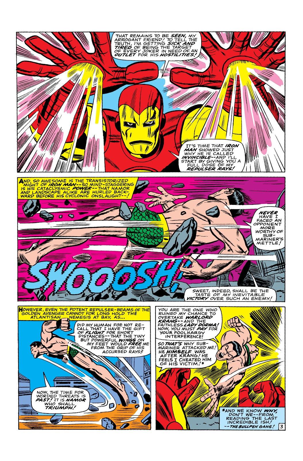 Read online Marvel Masterworks: The Invincible Iron Man comic -  Issue # TPB 3 (Part 5) - 20