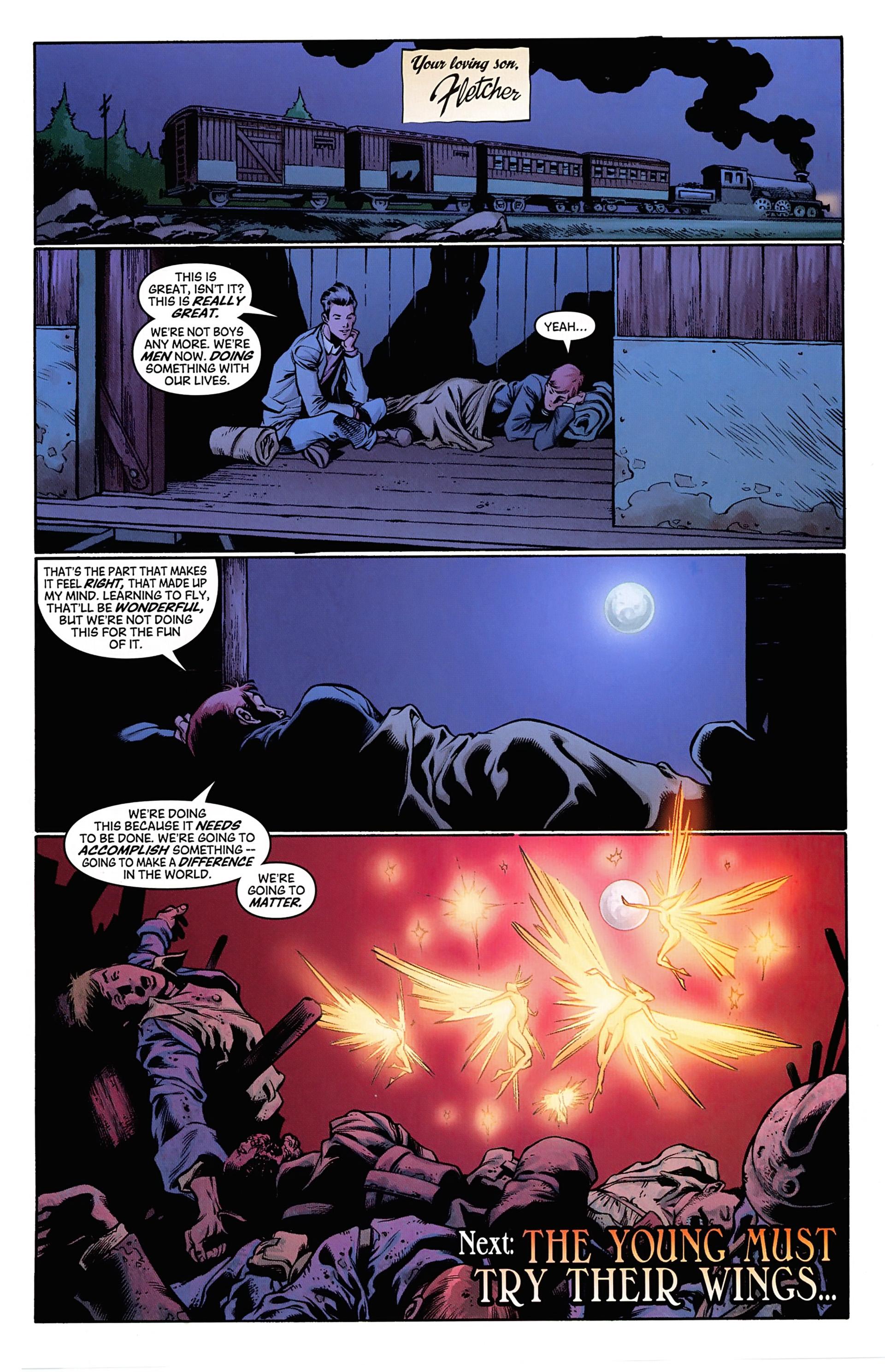 Read online Arrowsmith comic -  Issue #1 - 23