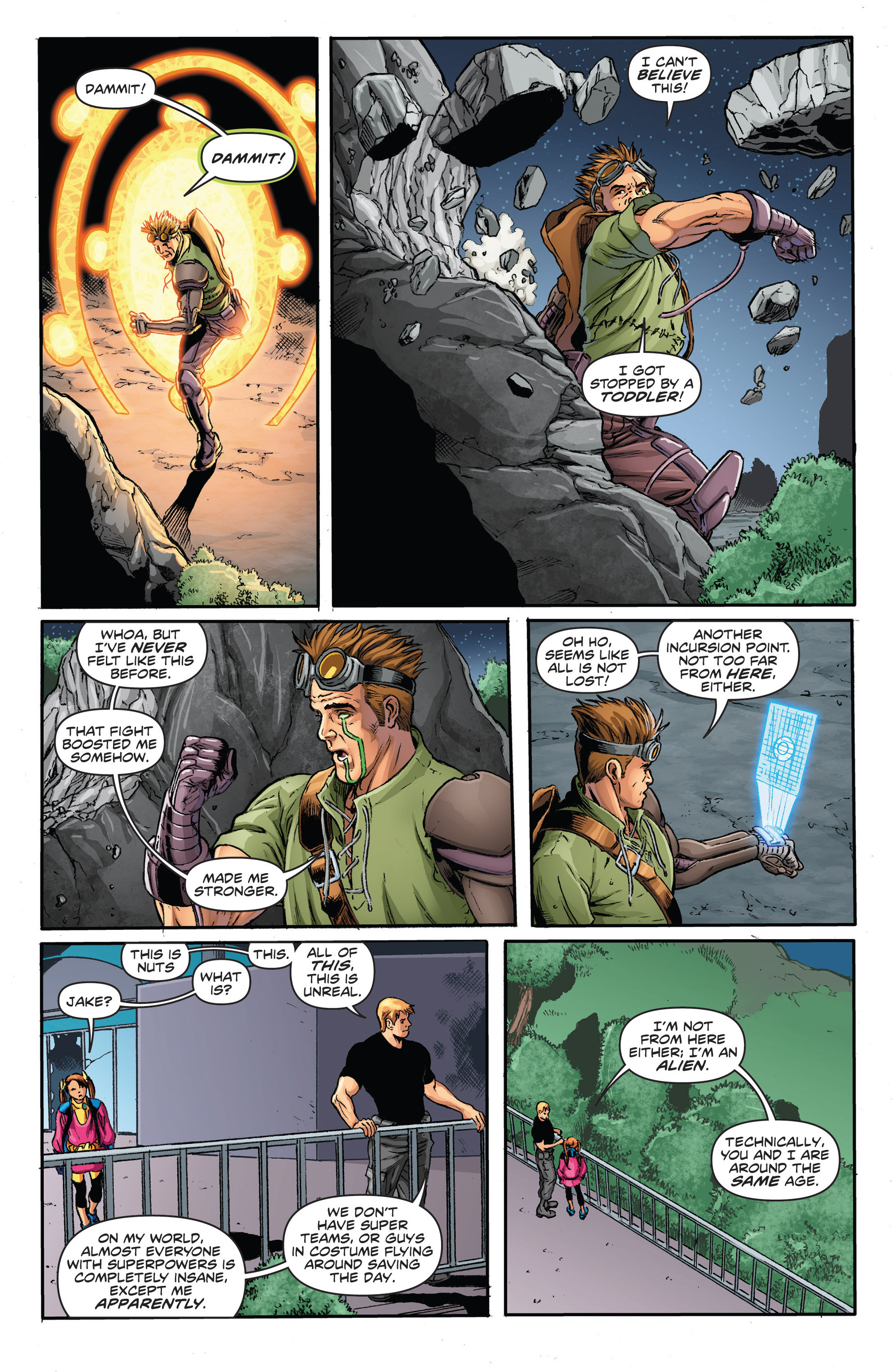 Read online Actionverse comic -  Issue #2 - 19