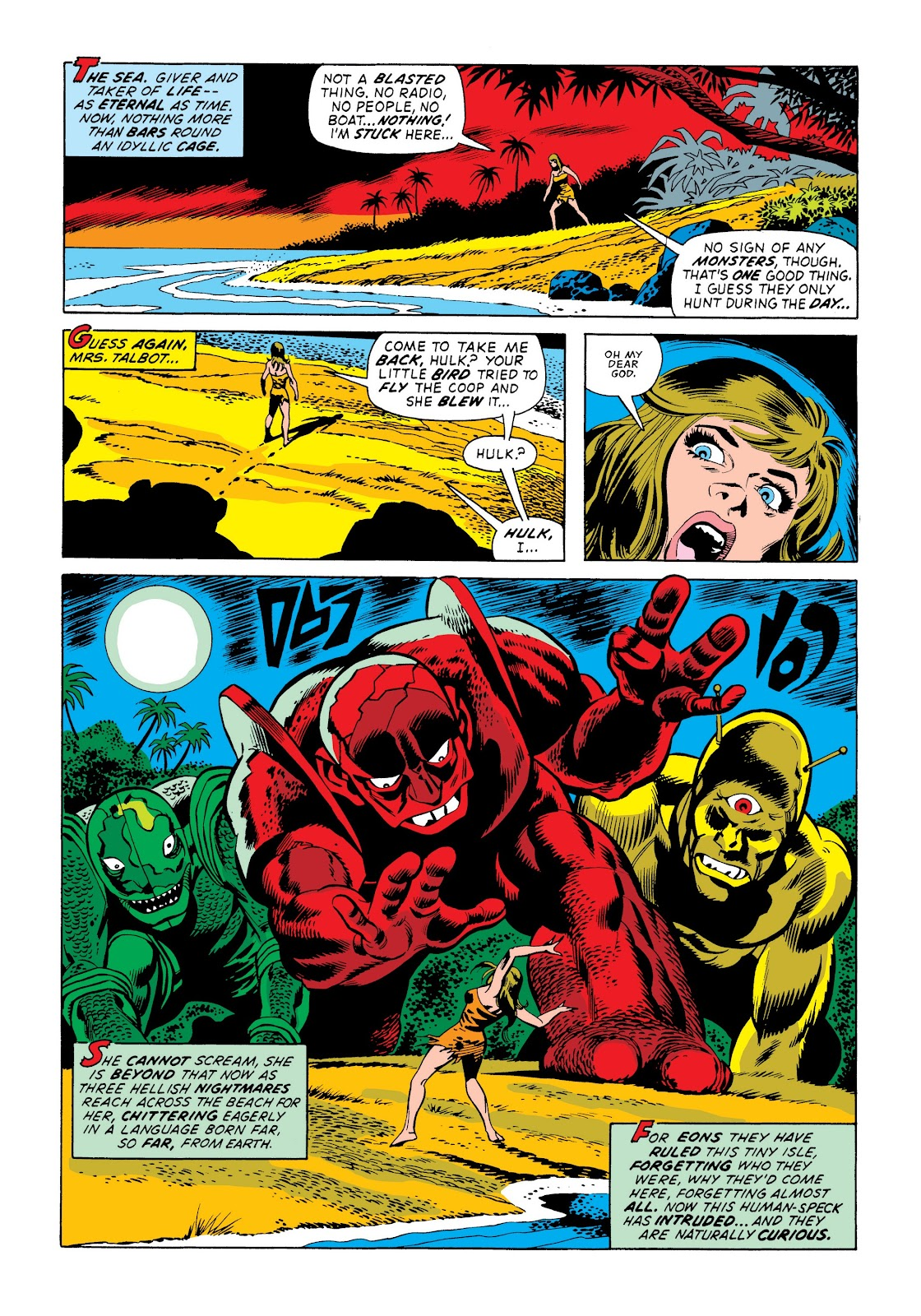 Read online Marvel Masterworks: The Incredible Hulk comic -  Issue # TPB 9 (Part 3) - 91