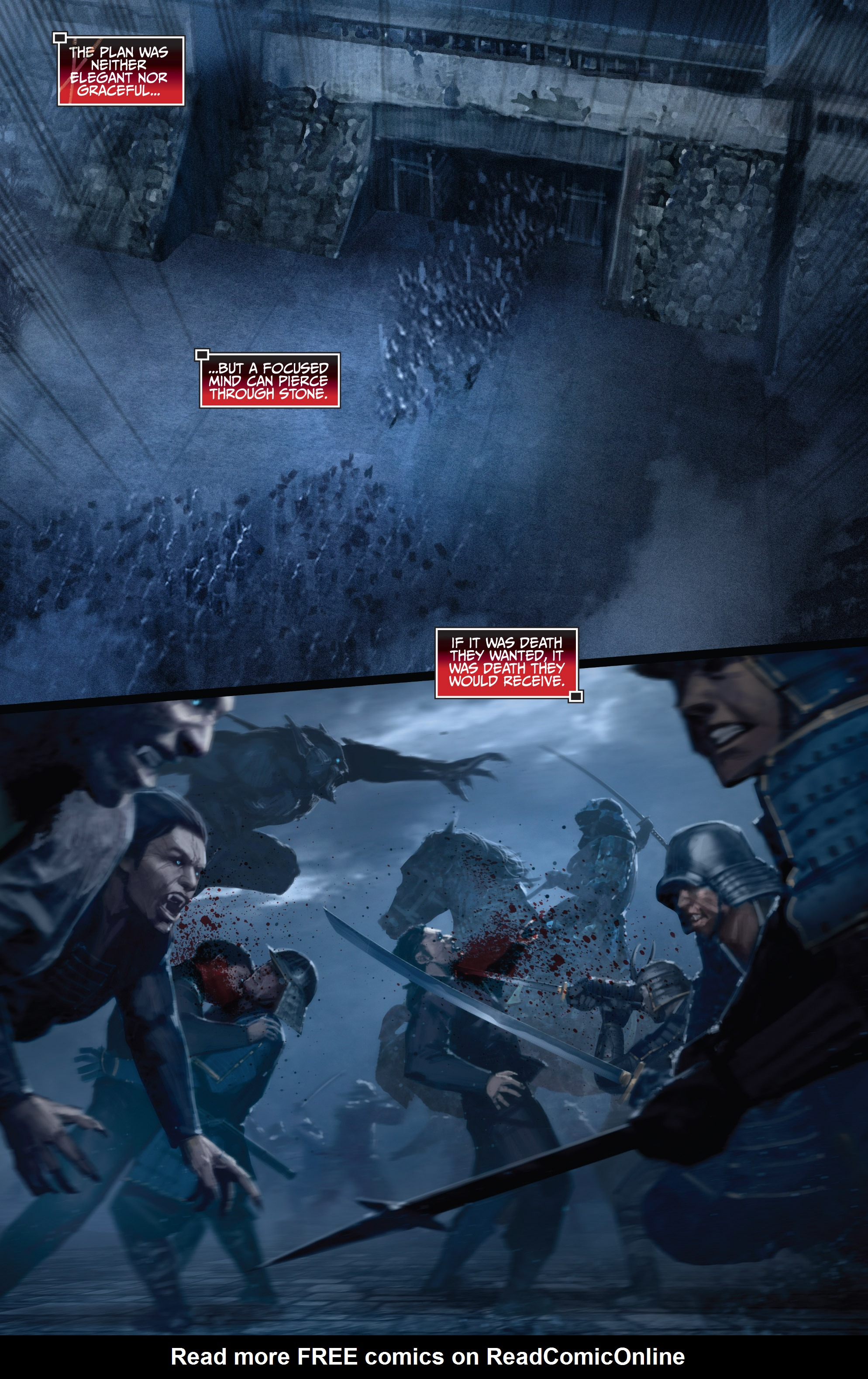 Read online Bushido: The Way of the Warrior comic -  Issue #5 - 10