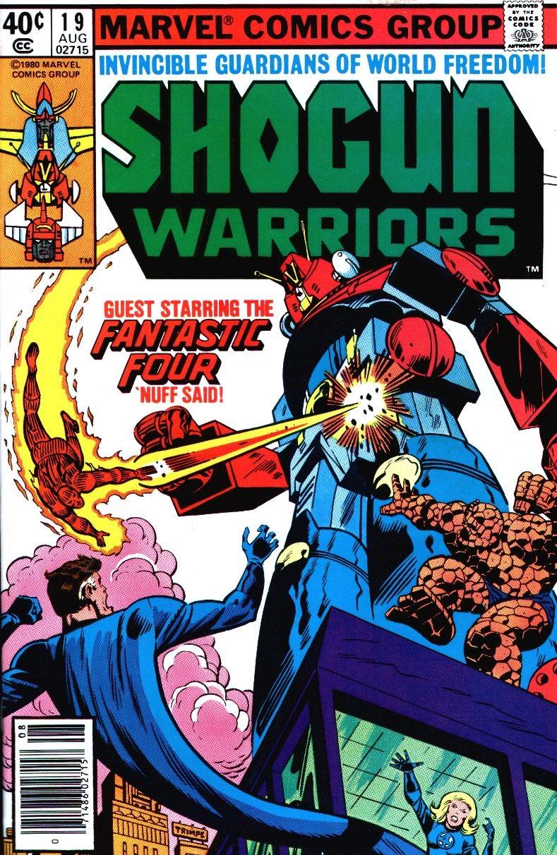 Shogun Warriors 19 Page 1