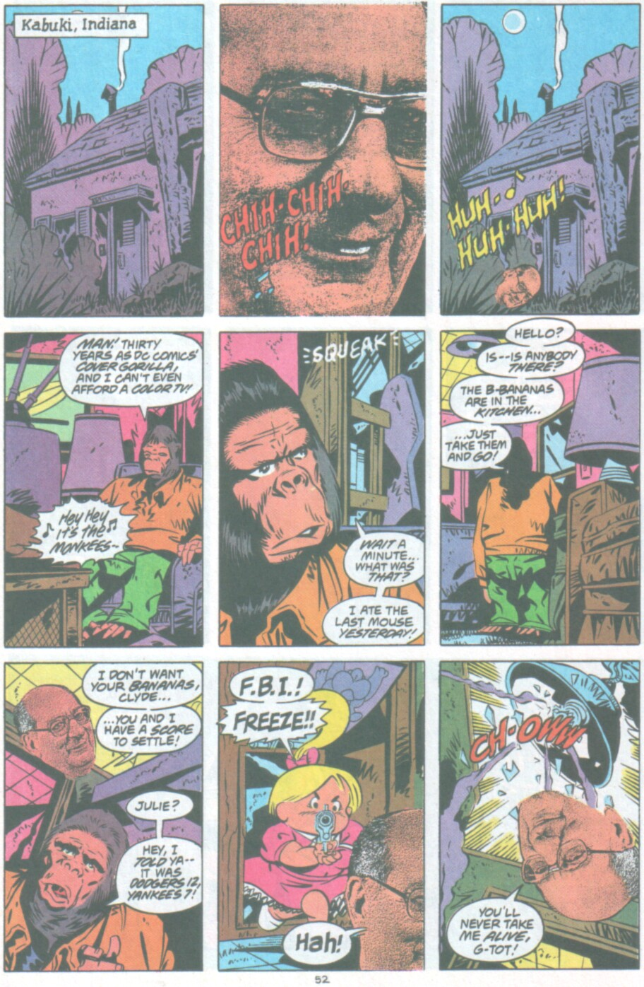 Read online Ambush Bug Nothing Special comic -  Issue # Full - 45