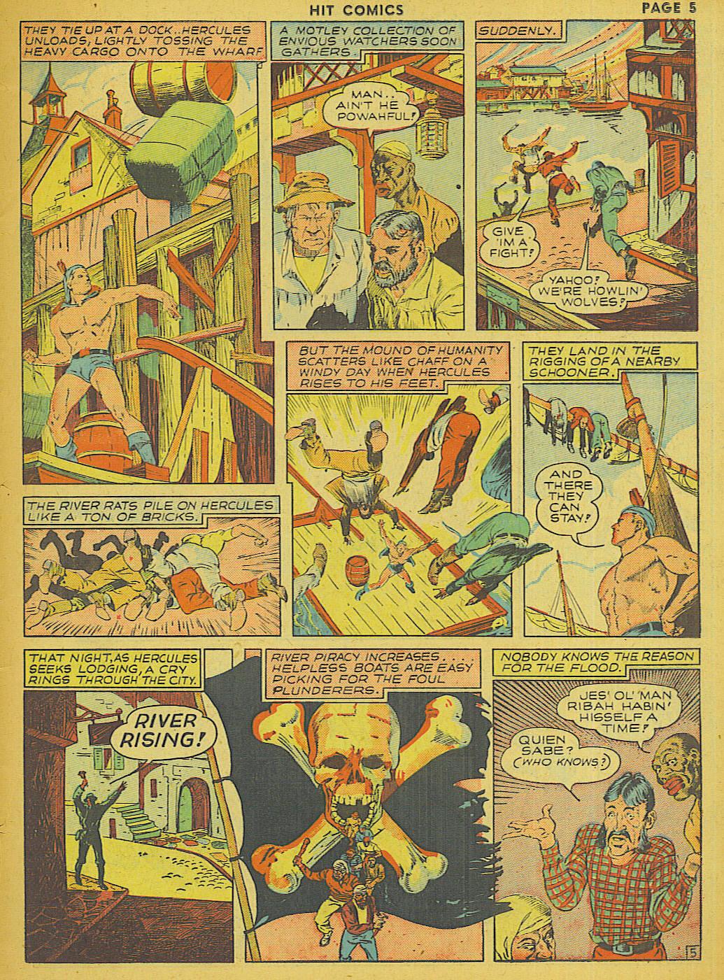 Read online Hit Comics comic -  Issue #13 - 7