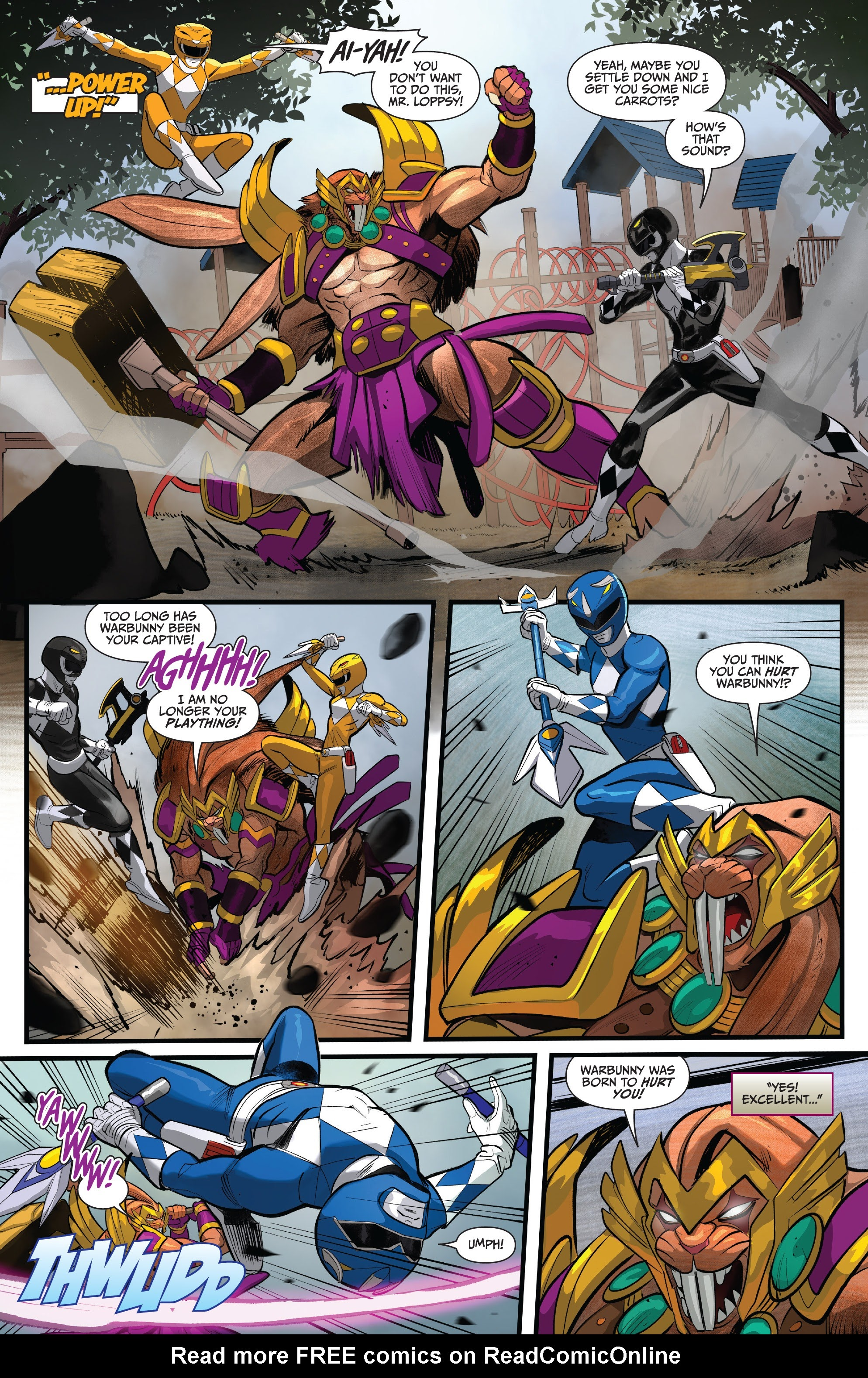 Read online Saban's Go Go Power Rangers comic -  Issue #22 - 20