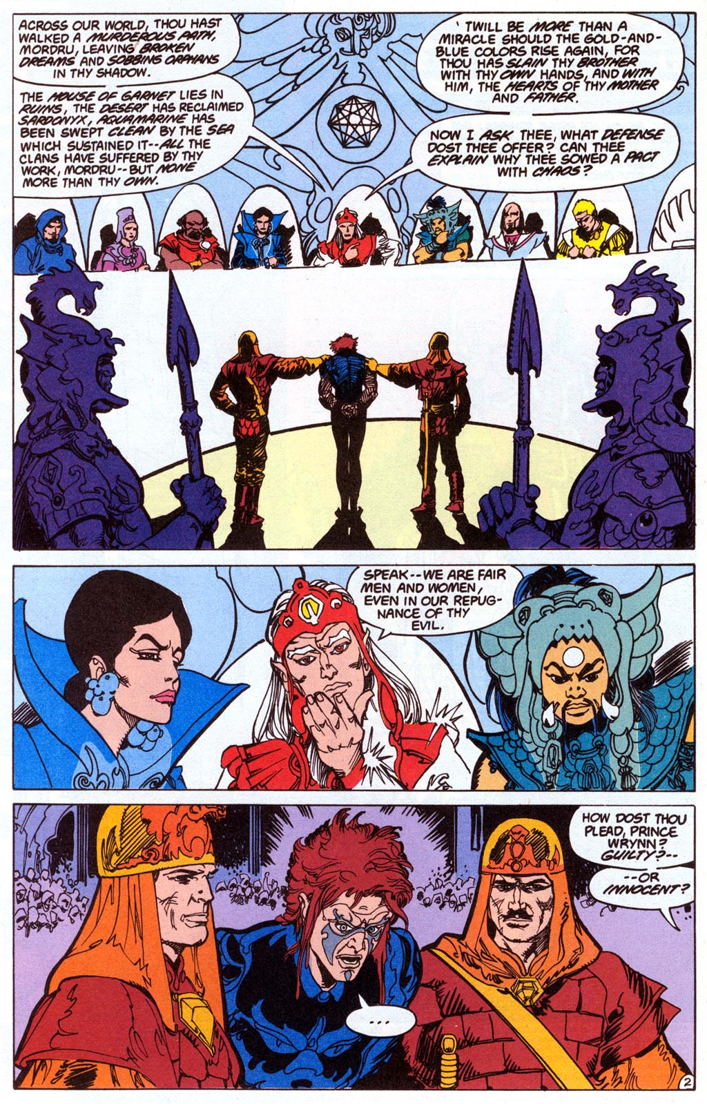 Read online Amethyst (1987) comic -  Issue #4 - 4