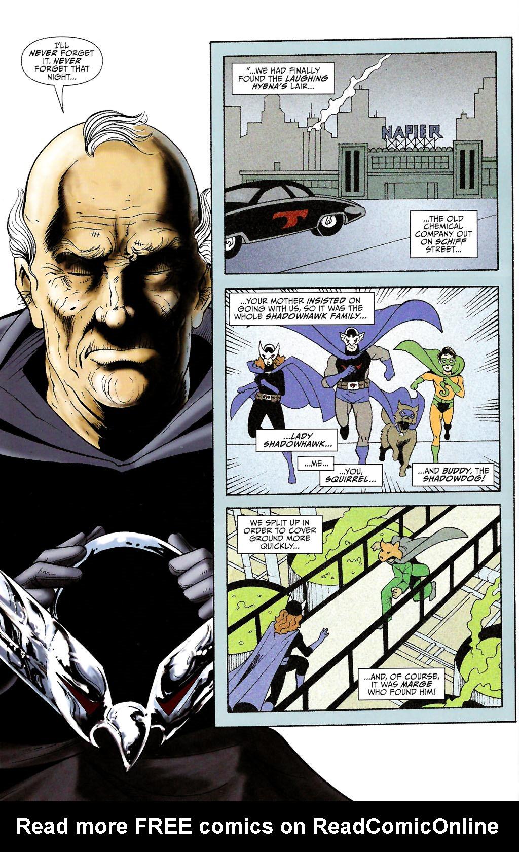 Read online ShadowHawk (2005) comic -  Issue #11 - 10