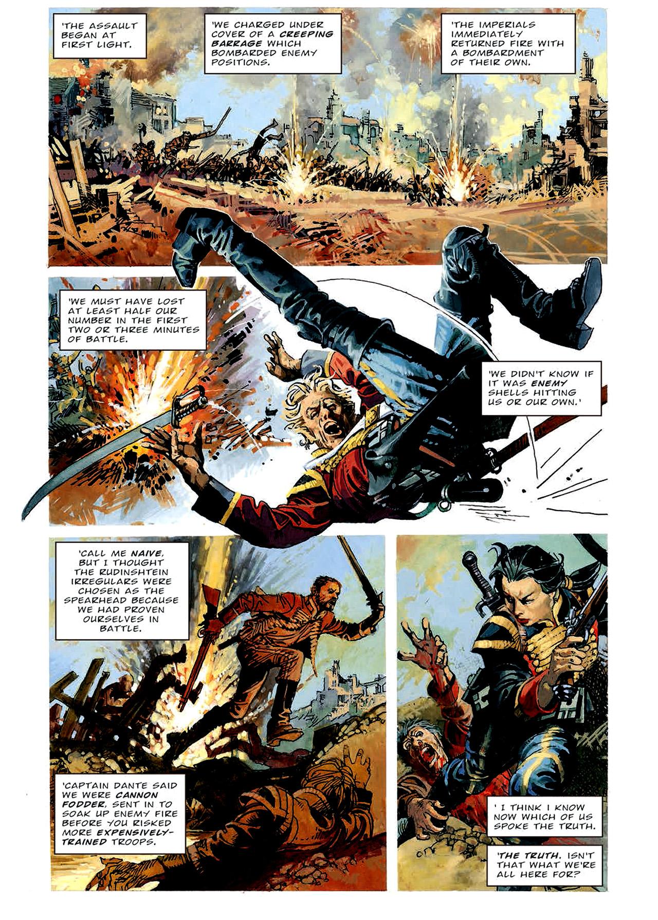 Read online Nikolai Dante comic -  Issue # TPB 4 - 68