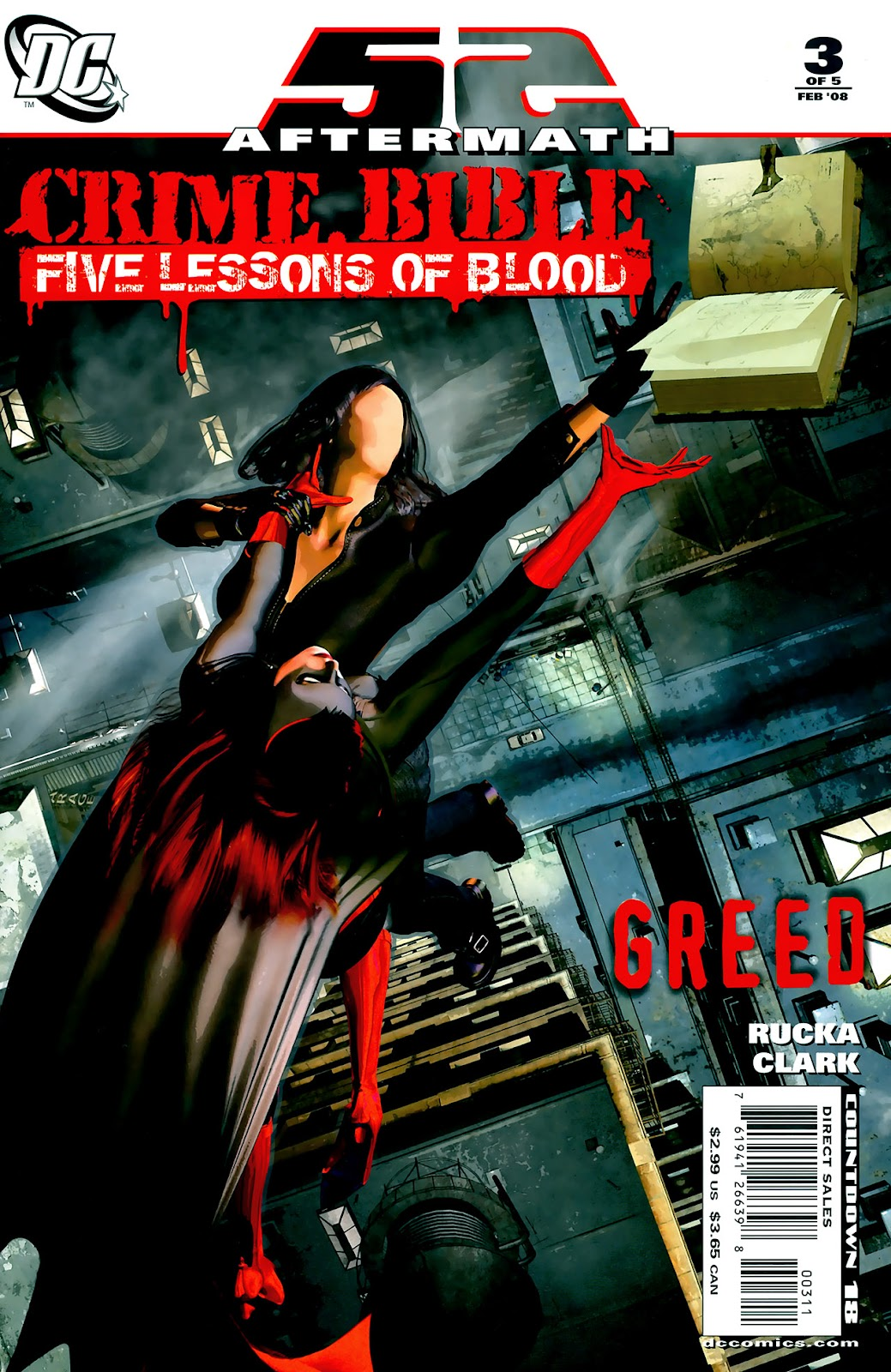 Crime Bible: The Five Lessons of Blood issue 3 - Page 1