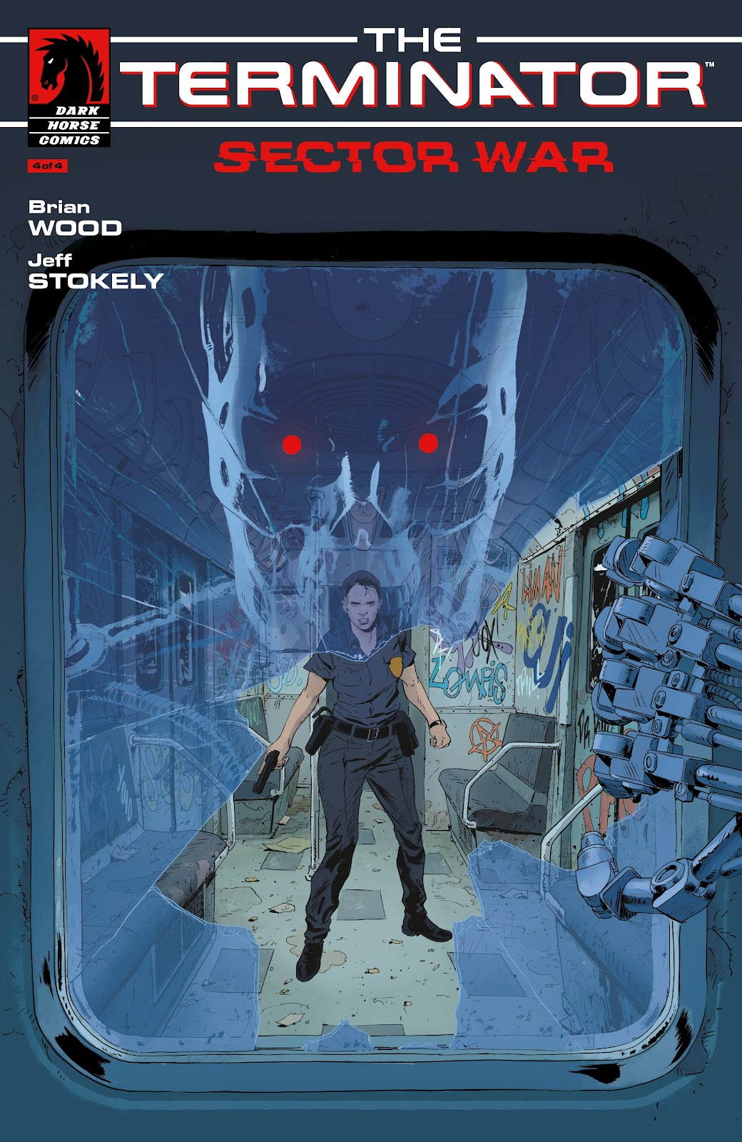 Read online The Terminator: Sector War comic -  Issue #4 - 1