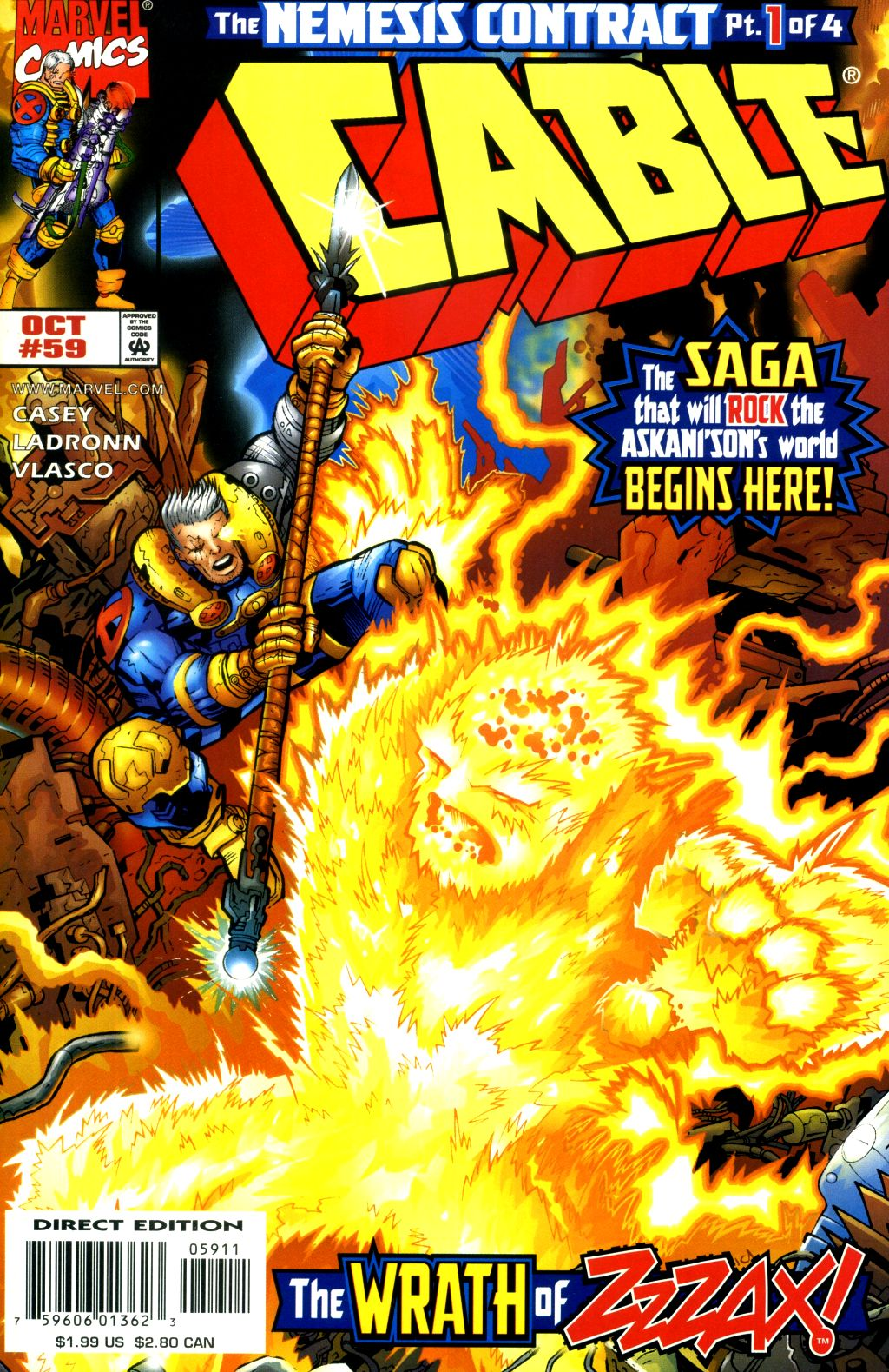 Cable (1993) 59 Page 1