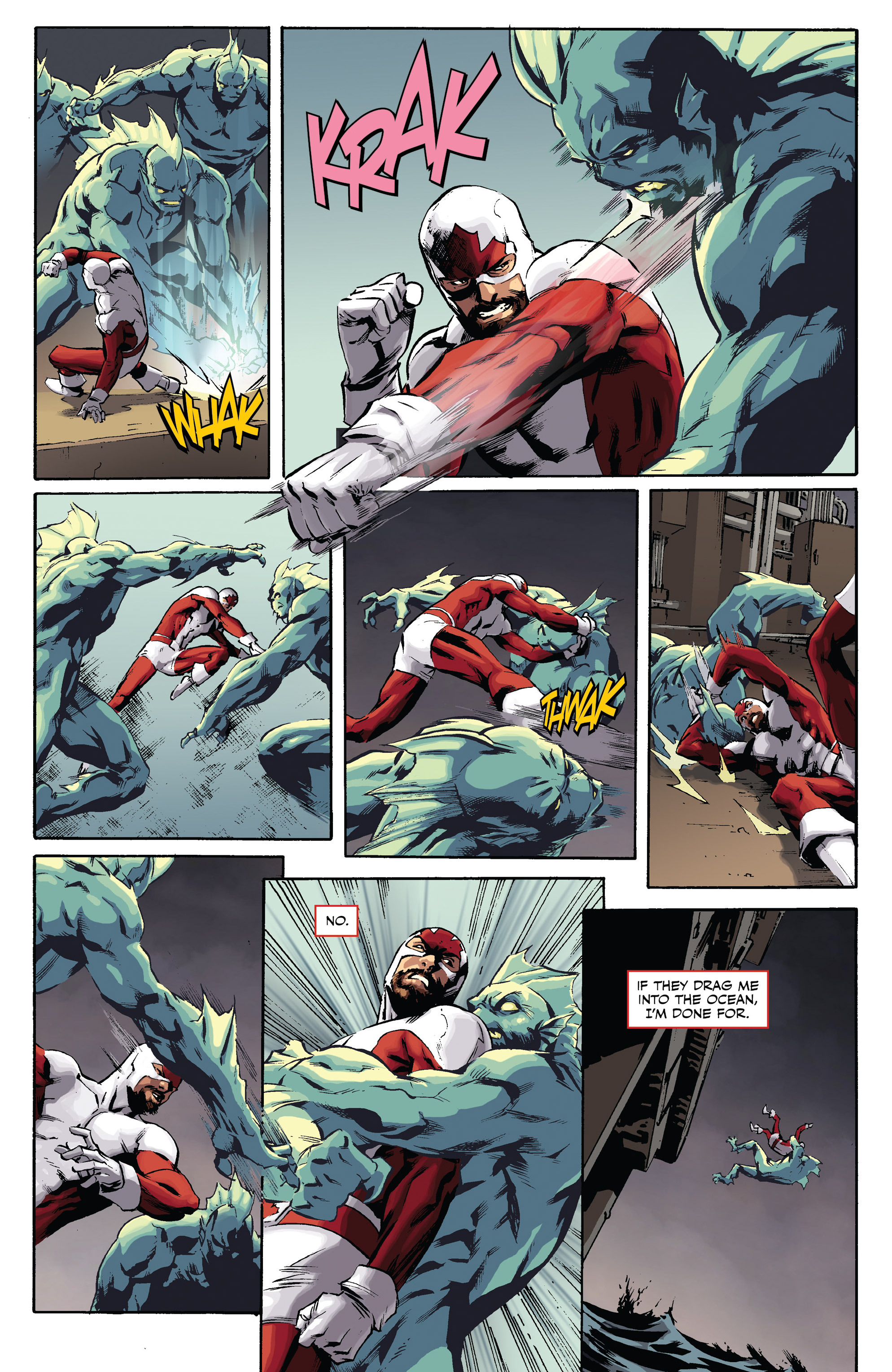 Read online All-New Classic Captain Canuck comic -  Issue #0 - 18