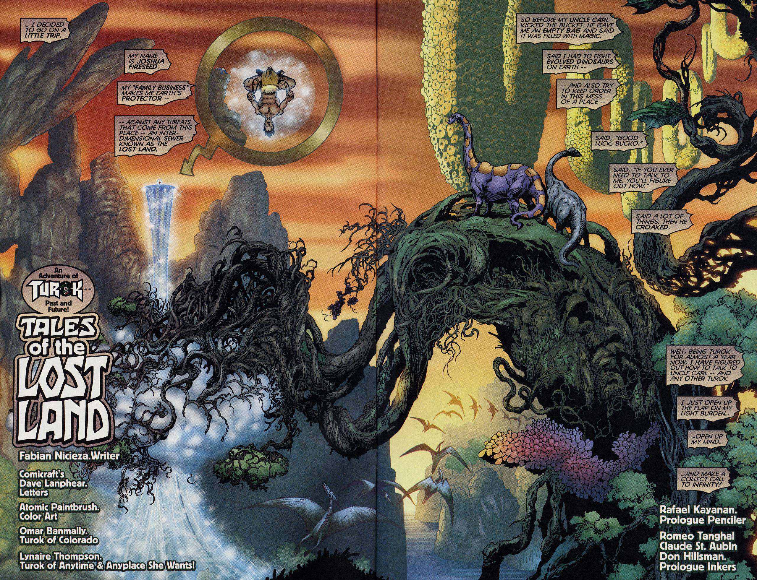 Read online Turok: Tales of the Lost Land comic -  Issue # Full - 3
