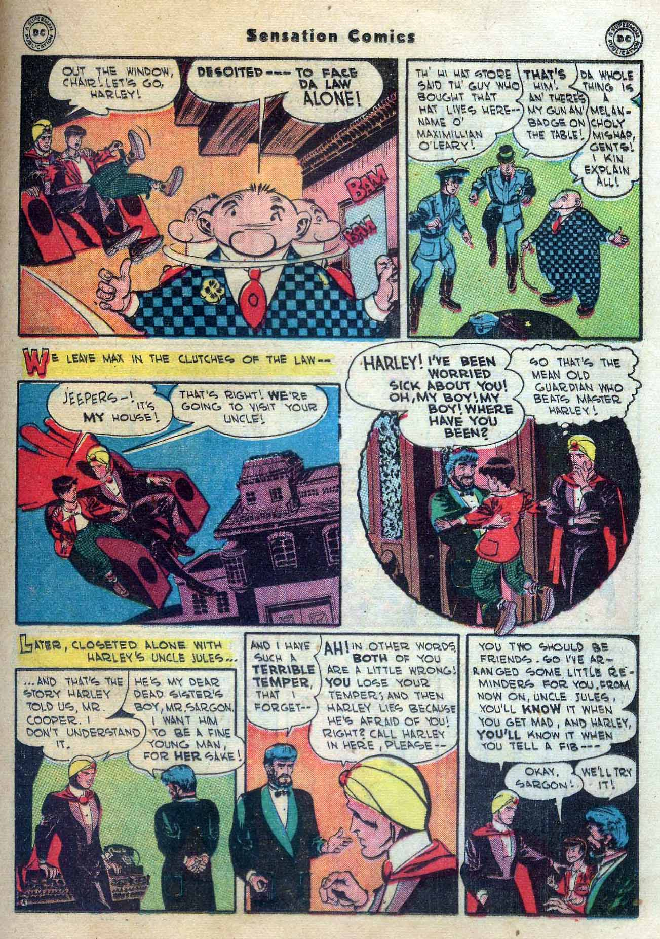 Read online Sensation (Mystery) Comics comic -  Issue #56 - 29