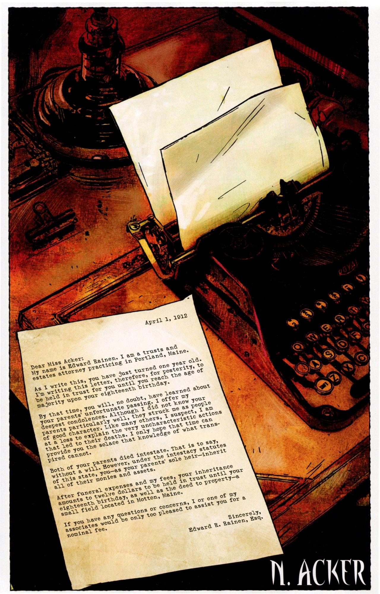 Read online Stephen King's N. comic -  Issue #2 - 4