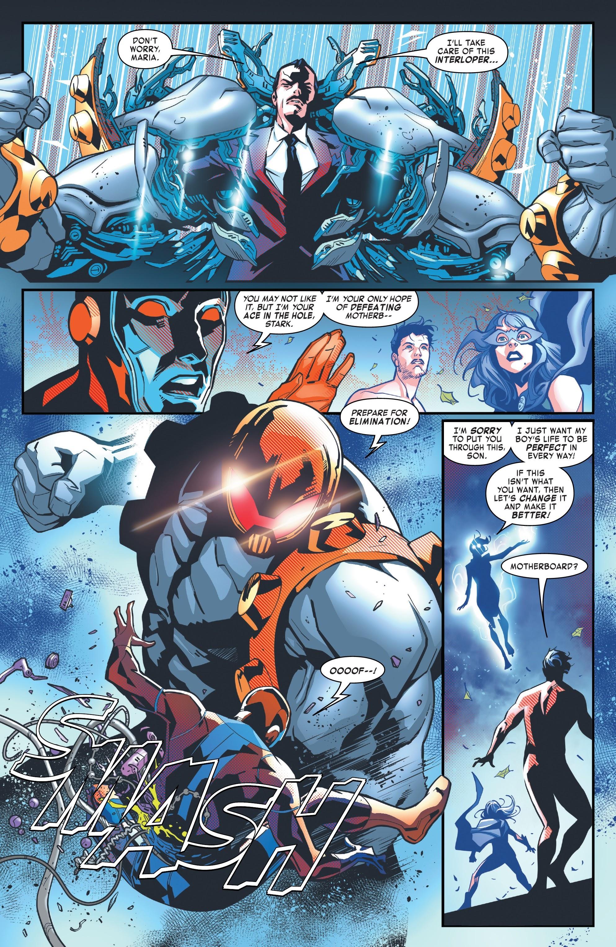 Read online Tony Stark: Iron Man comic -  Issue #10 - 8
