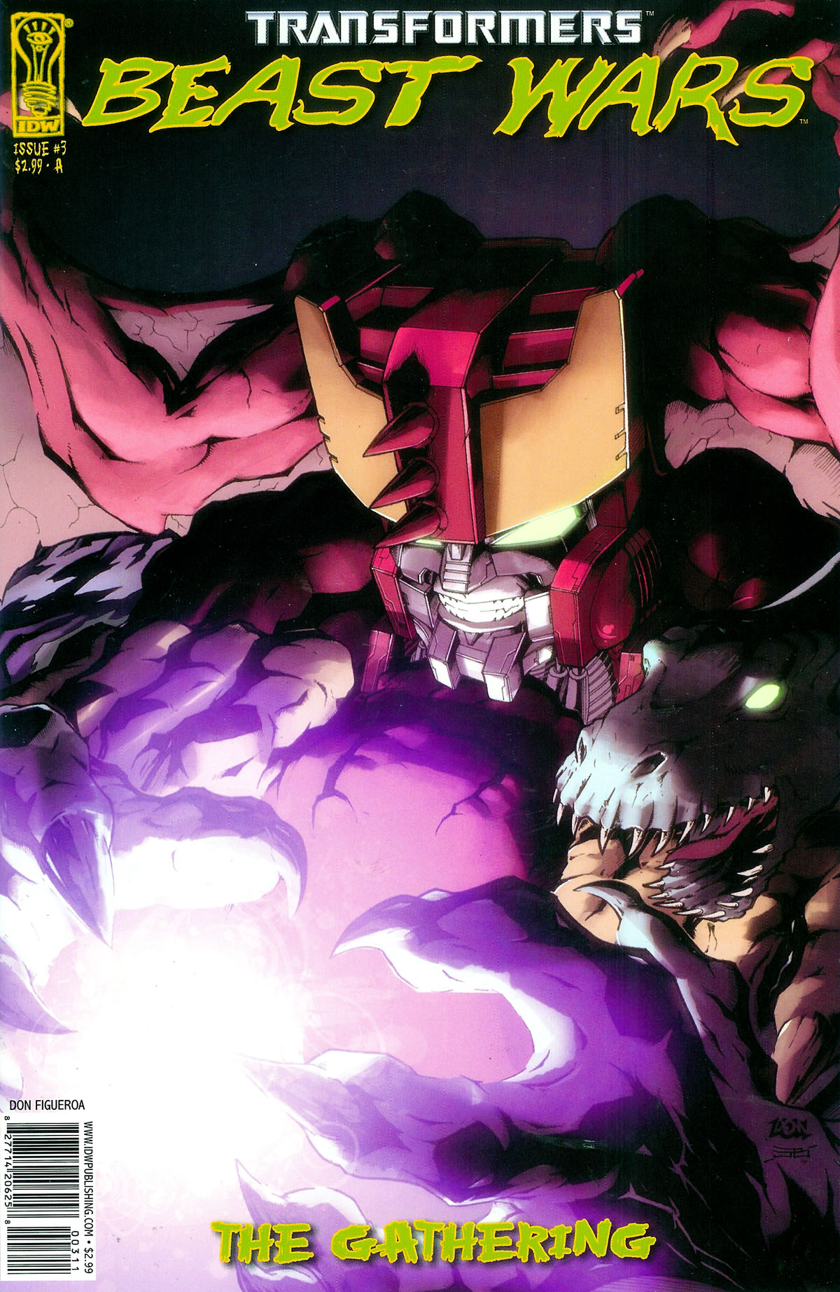 Read online Transformers, Beast Wars: The Gathering comic -  Issue #3 - 1