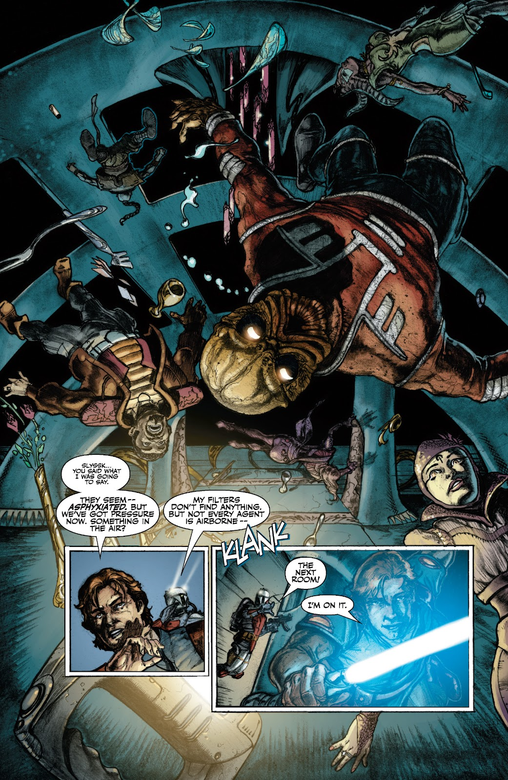 Read online Star Wars Legends: The Old Republic - Epic Collection comic -  Issue # TPB 3 (Part 1) - 11