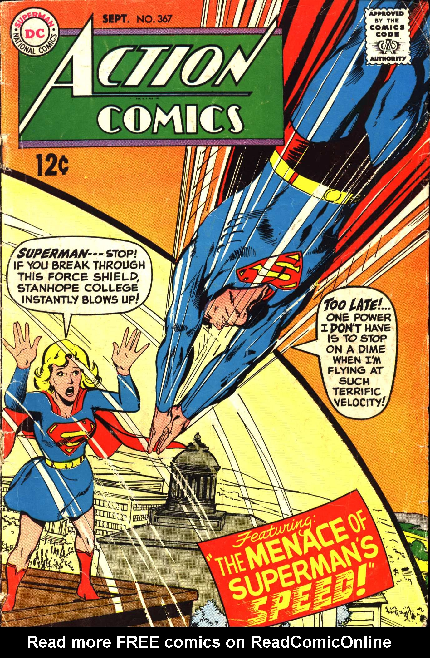 Read online Action Comics (1938) comic -  Issue #367 - 1