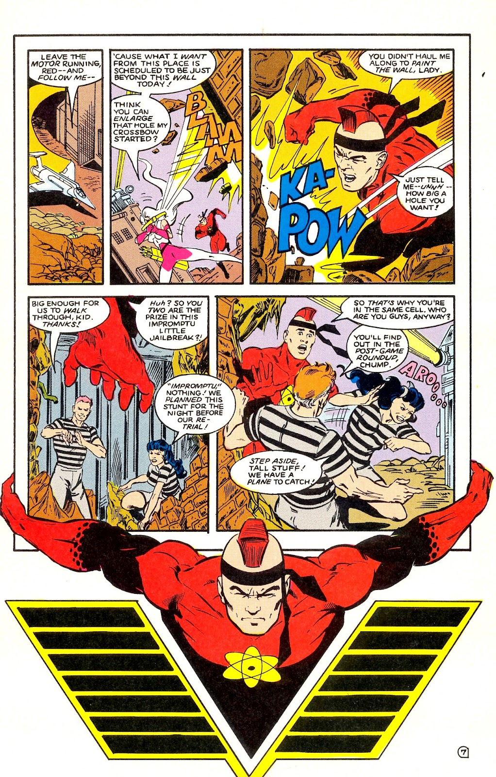 Infinity Inc. (1984) issue 35 - Page 9