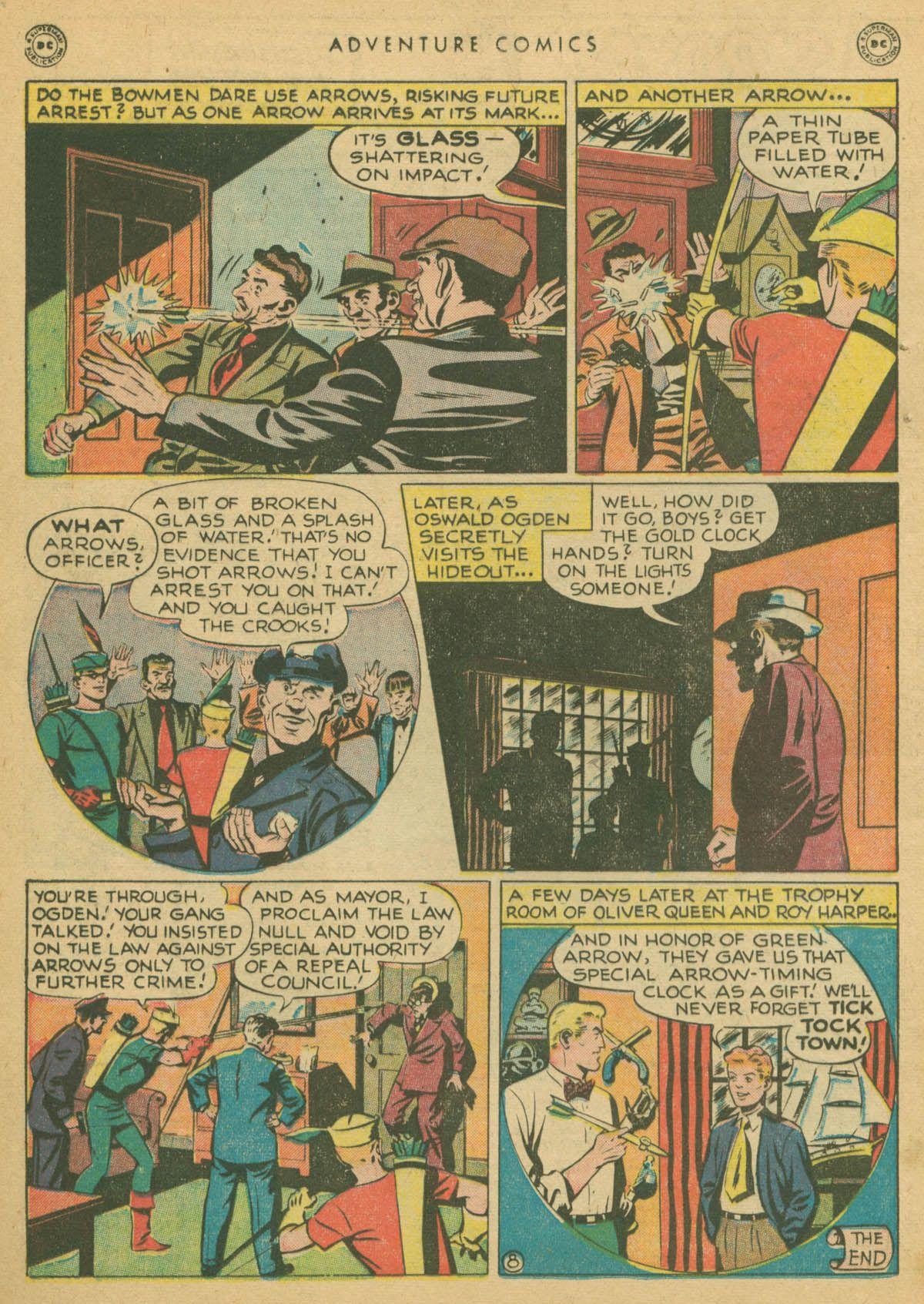 Read online Adventure Comics (1938) comic -  Issue #142 - 21
